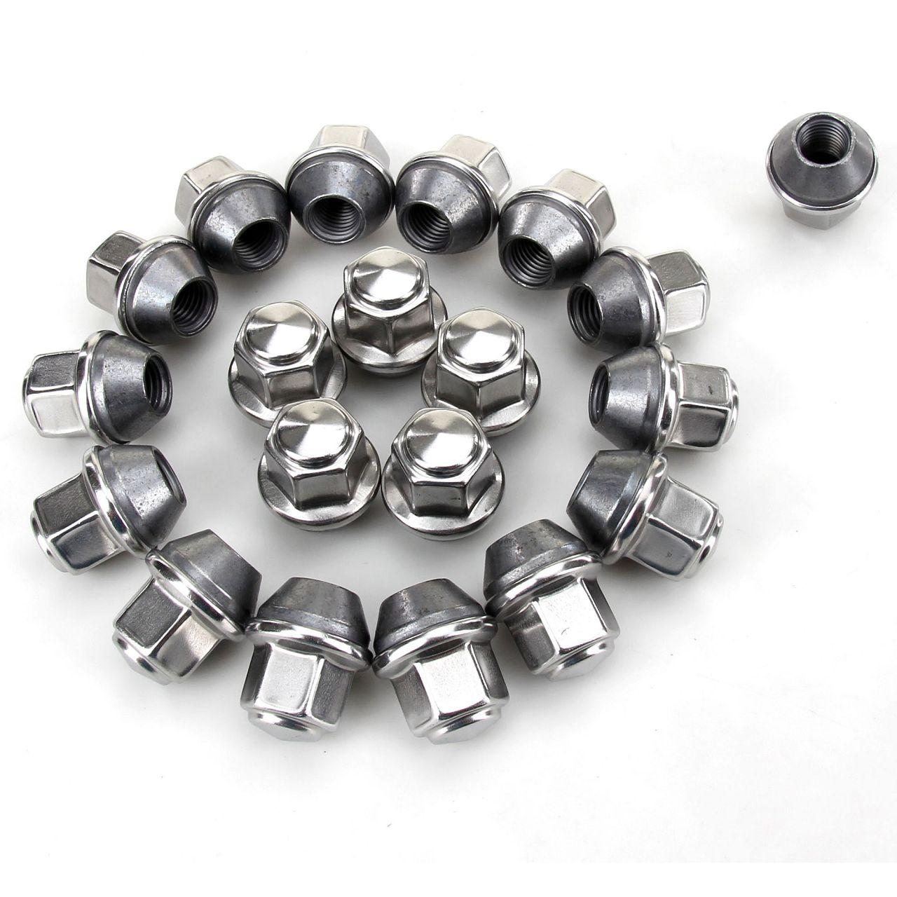 20x Radmuttern M12x1,5mm für FORD B-MAX C-MAX FIESTA FOCUS MONDEO 5114407