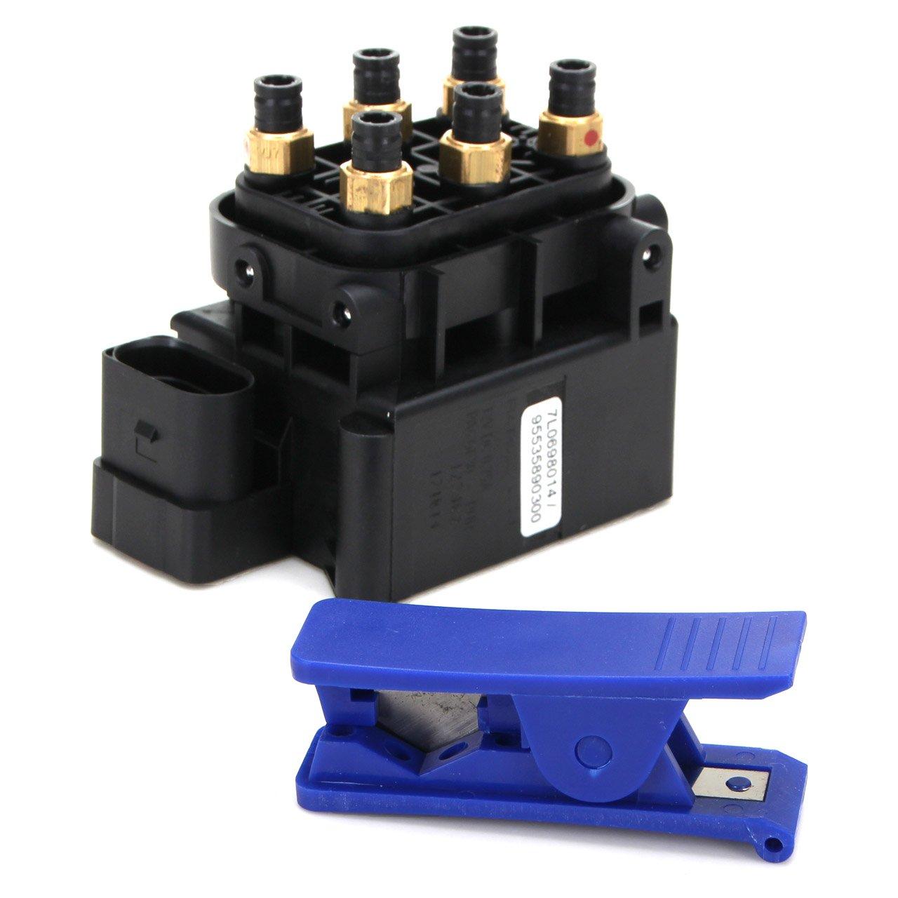 RAPA Ventil Druckluftanlage Luftfederung AUDI Q7 (4LB) VW Touareg (7L) 7L0698014