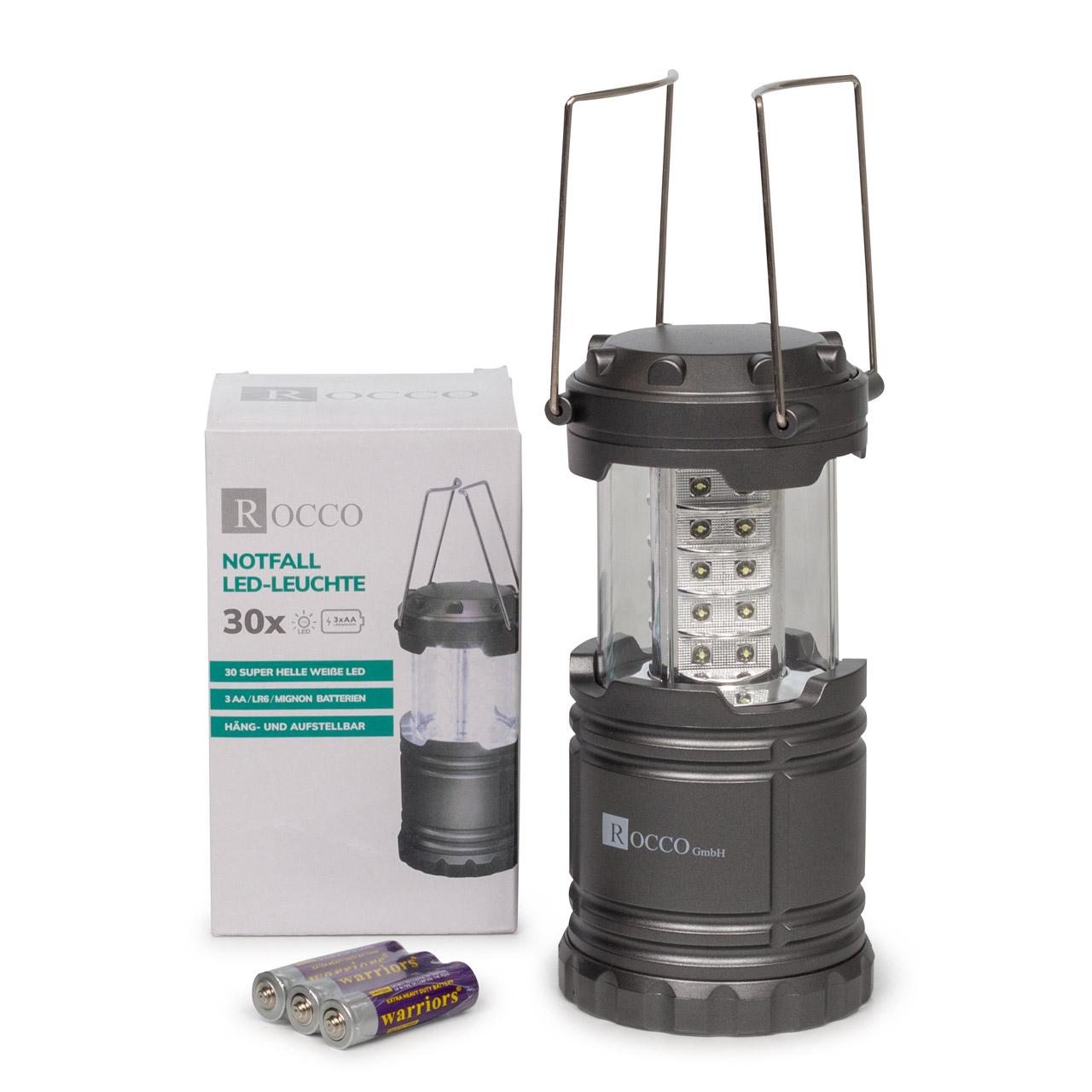 ROCCO Notfallleuchte LED-Leuchte Arbeitsleuchte Mobile LED Batteriebetrieben