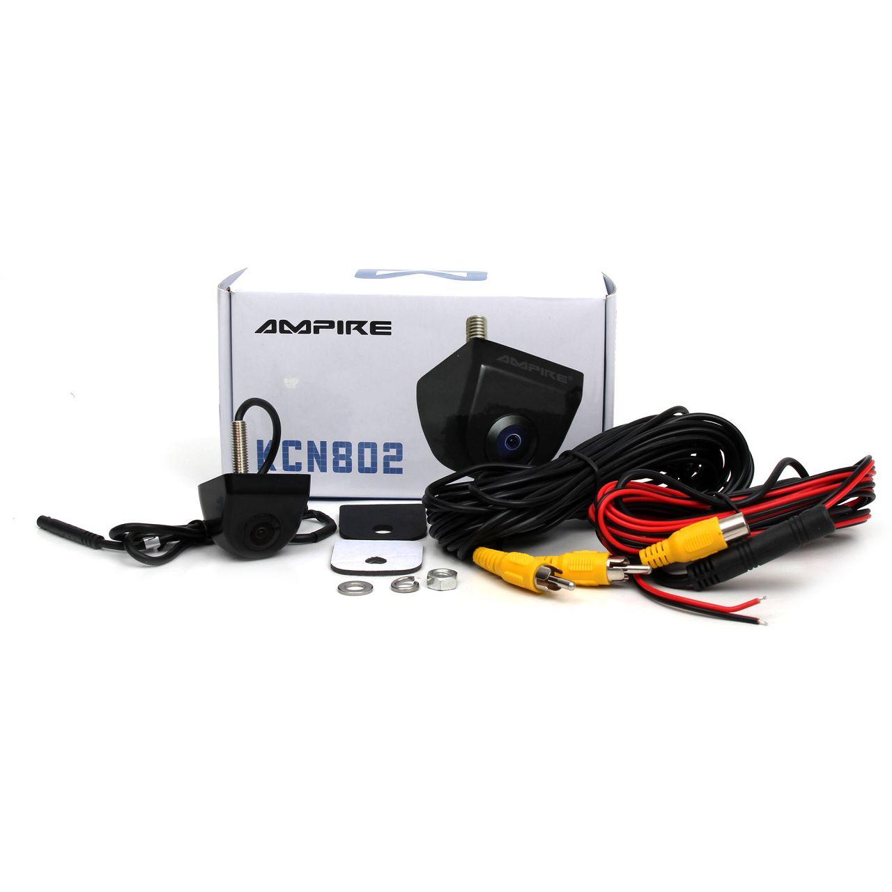AMPIRE KCN802 Farb- Rückfahrkamera Unterbau Kamera für VW TRANSPORTER T6