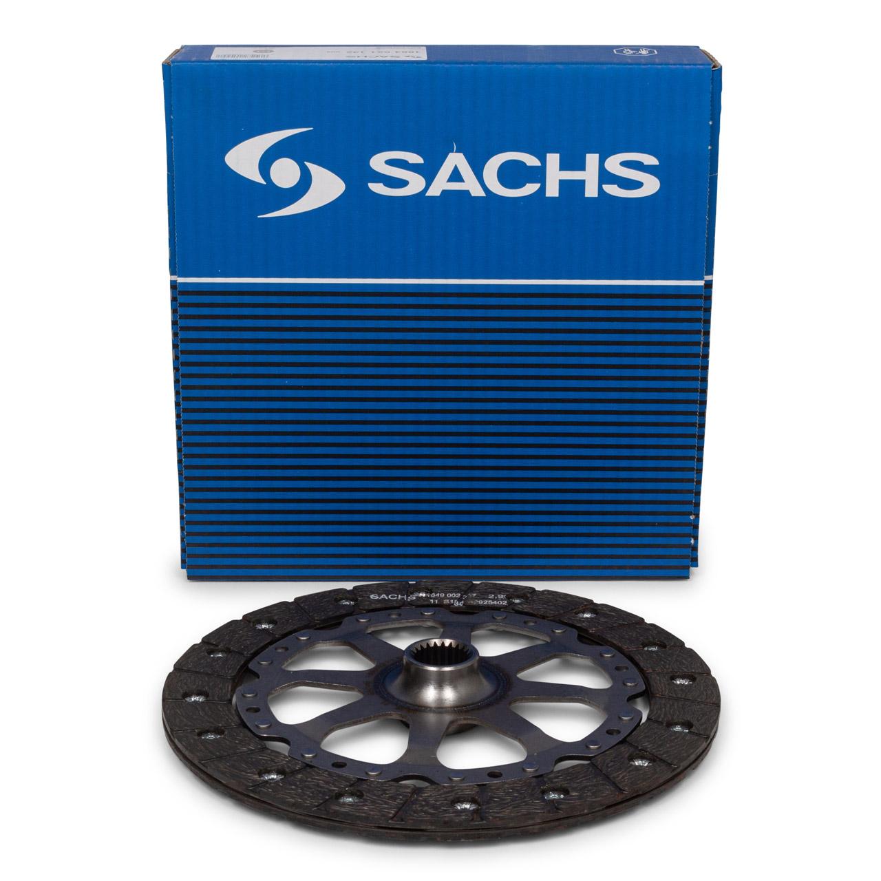 SACHS Kupplungsscheibe für PORSCHE 911 + CABRIO TARGA (996 997) 3.4/3.6 Carrera
