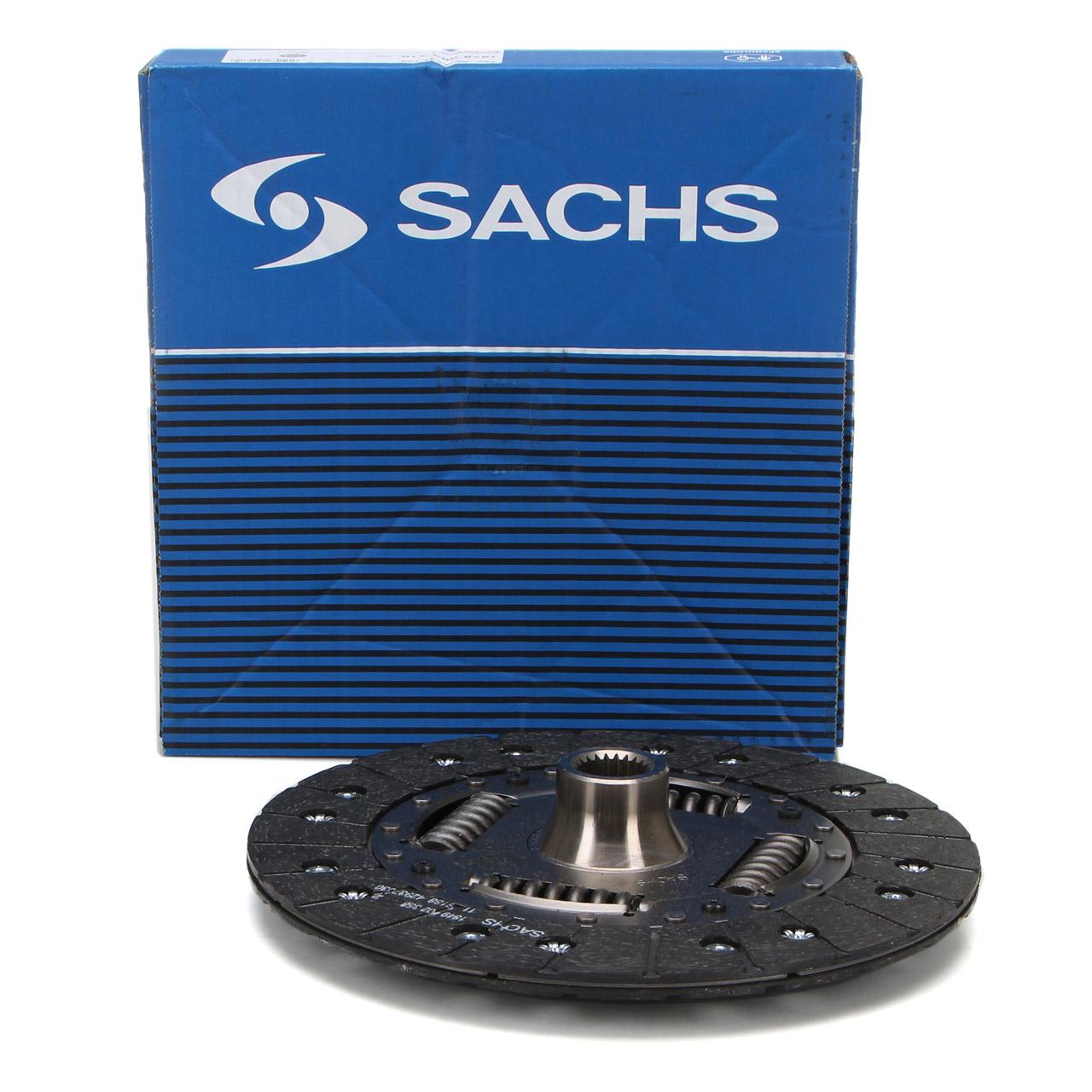 SACHS 1878003310 Kupplungsscheibe PORSCHE 997 3.6 Turbo 480 PS 99711601354
