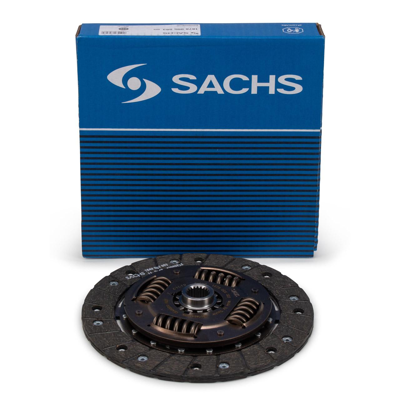 SACHS Kupplungsscheibe PORSCHE 911 2.3 T 2.3 E 2.3 S 2.7 / 3.0 / 3.2 SC Carrera