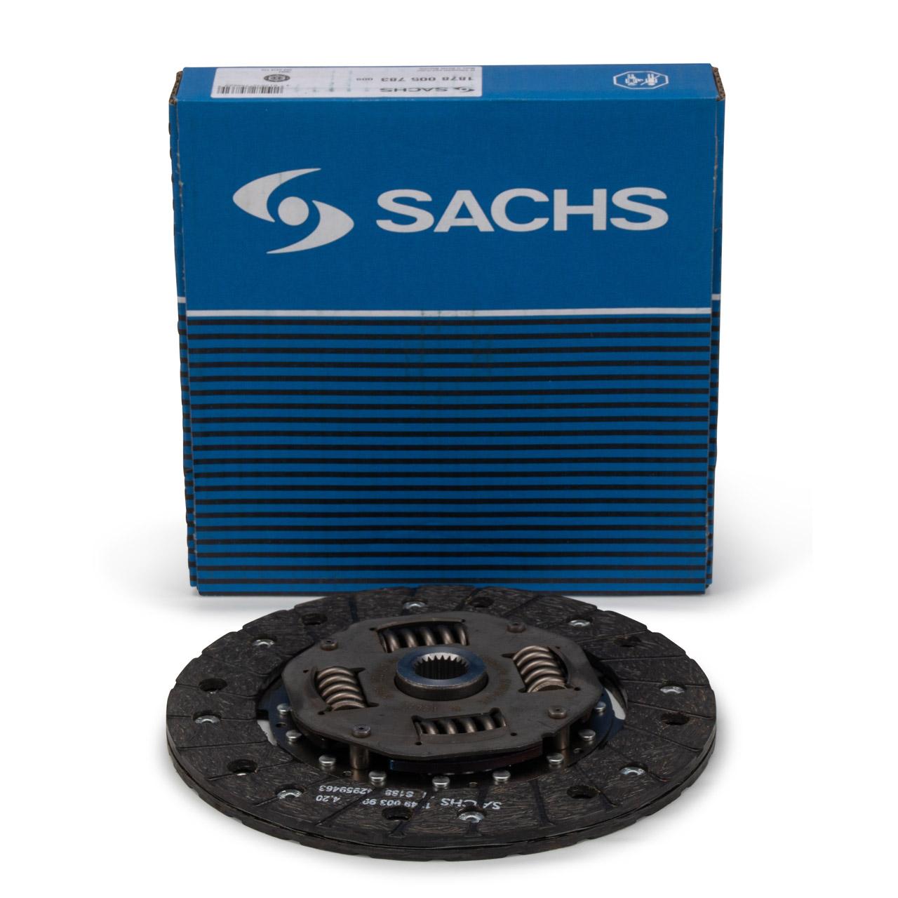 SACHS Kupplungsscheibe für PORSCHE 356 C 1600 SC 912 TARGA 1.6 69211601602