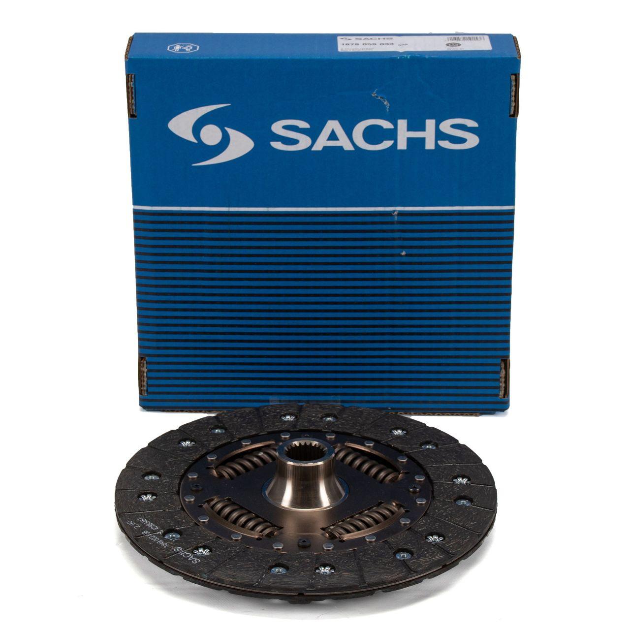 SACHS Kupplungsscheibe PORSCHE 996 3.6 Turbo 420/450 PS + 3.6 GT2 483 PS