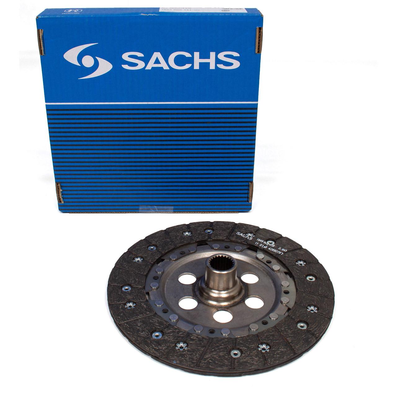 SACHS 1864000141 Kupplungsscheibe PORSCHE 996 3.6 GT3 + 997 3.6 GT3 / Turbo / GT2