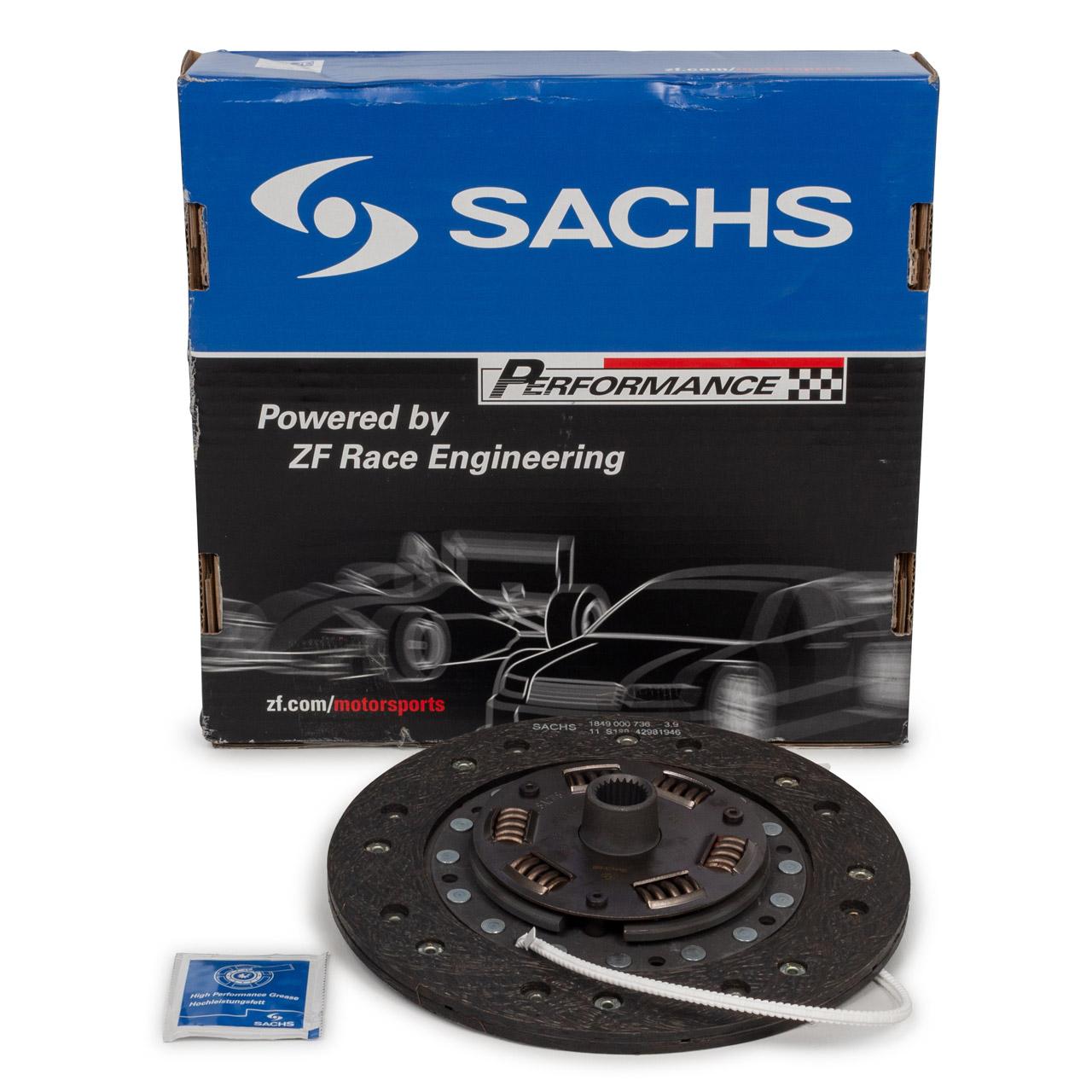 SACHS PERFORMANCE Kupplungsscheibe PORSCHE 911 2.0 T/L/E/S + 914 1.8 2.0 /6 2.0