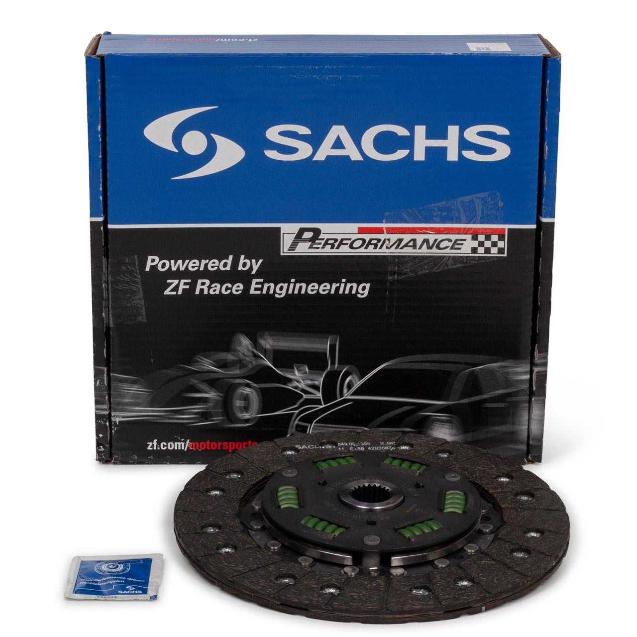 SACHS PERFORMANCE Kupplungsscheibe PORSCHE 964 3.6 Carrera RS + 996 3.6 GT3