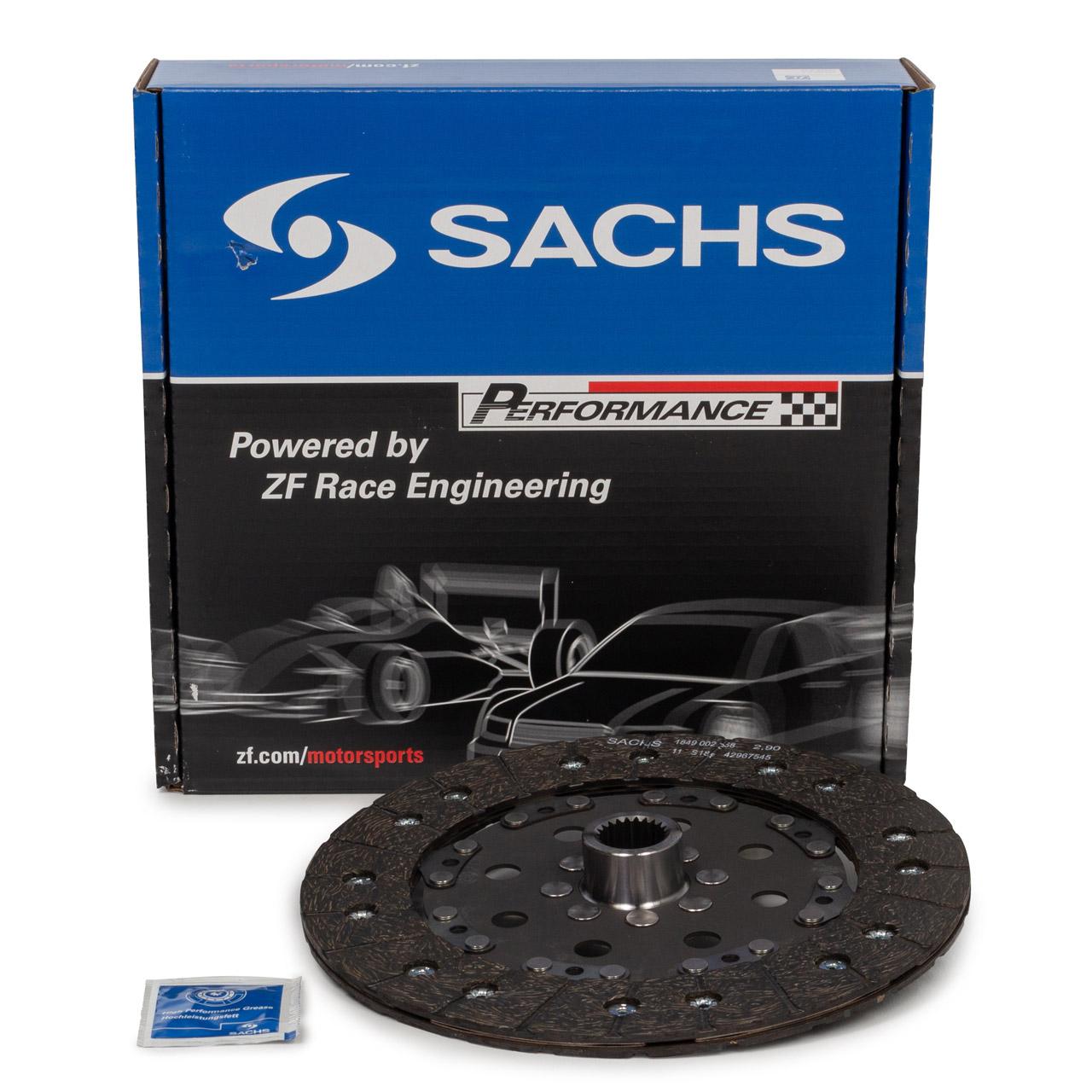 SACHS PERFORMANCE Kupplungsscheibe für PORSCHE 911 (964) 3.6 Carrera / RS 250 PS