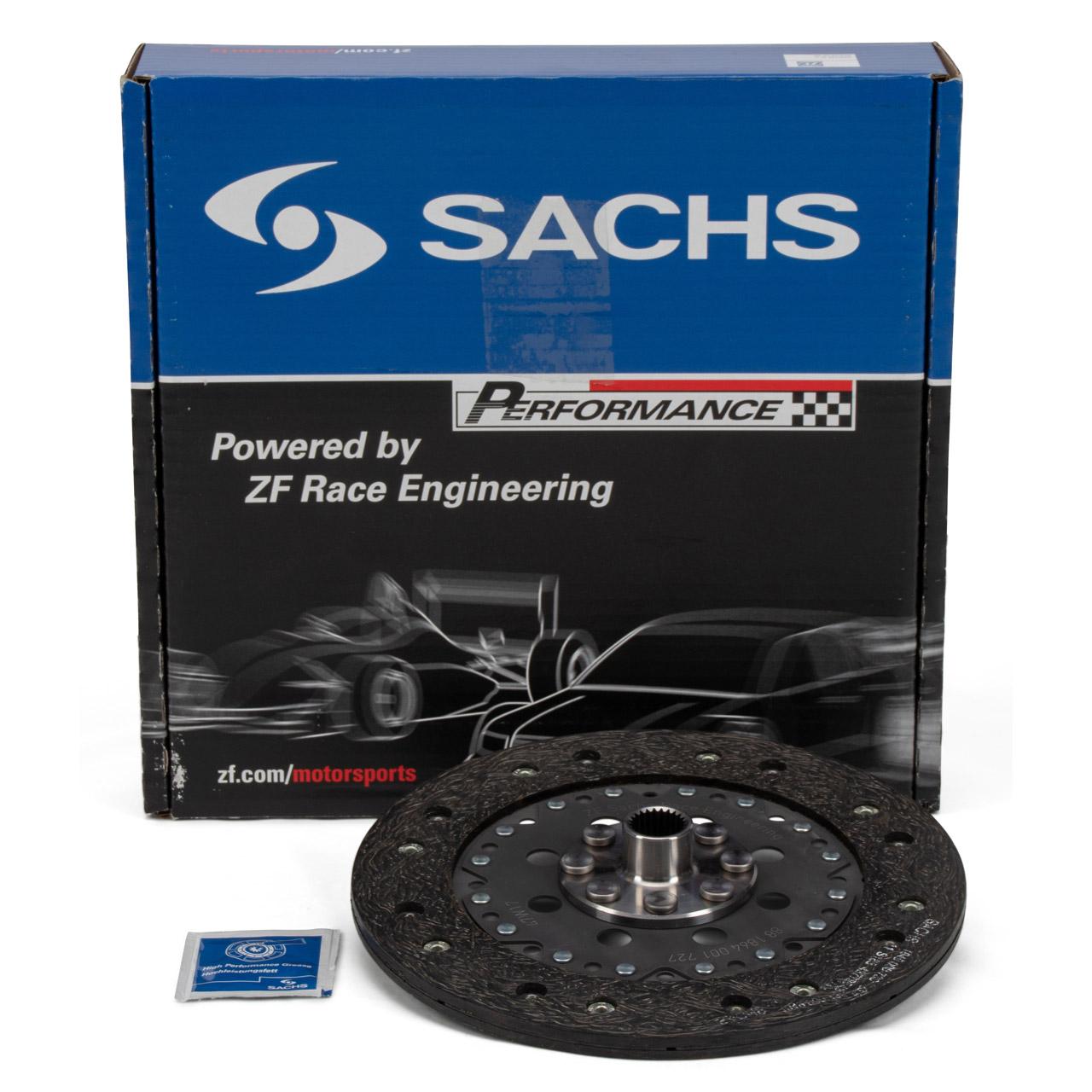 SACHS PERFORMANCE Kupplungsscheibe PORSCHE 911 2.0 T / L / E / S + 914 1.8 2.0