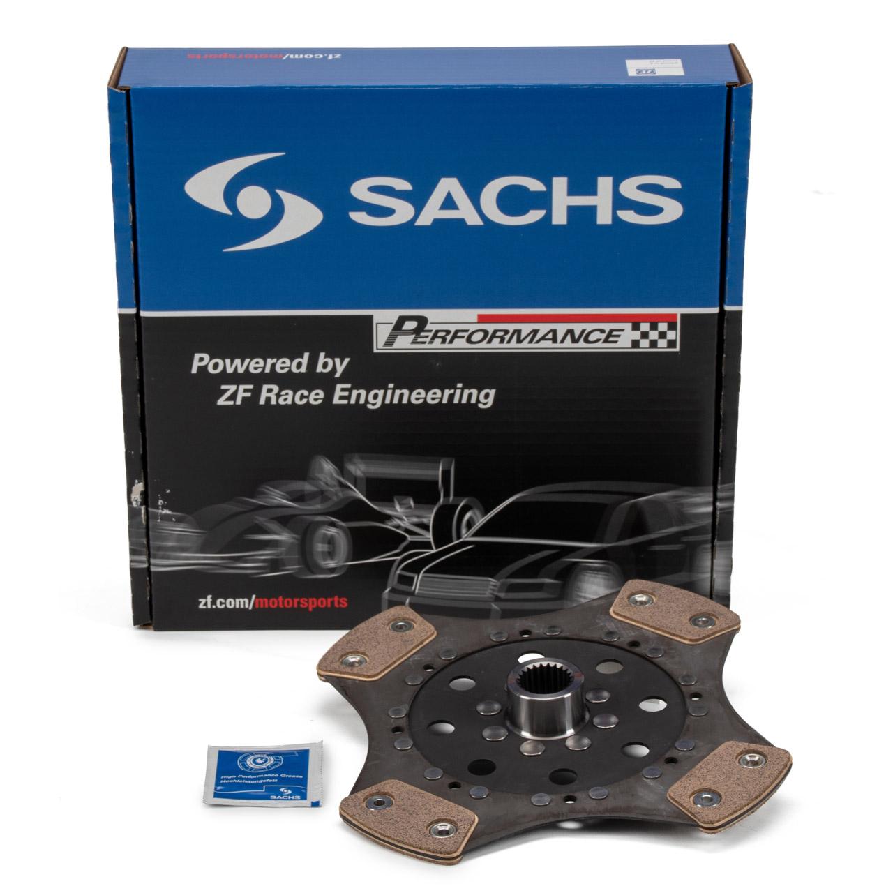 SACHS PERFORMANCE Kupplungsscheibe Sinter PORSCHE 964 3.6 Carrera 4 250 PS