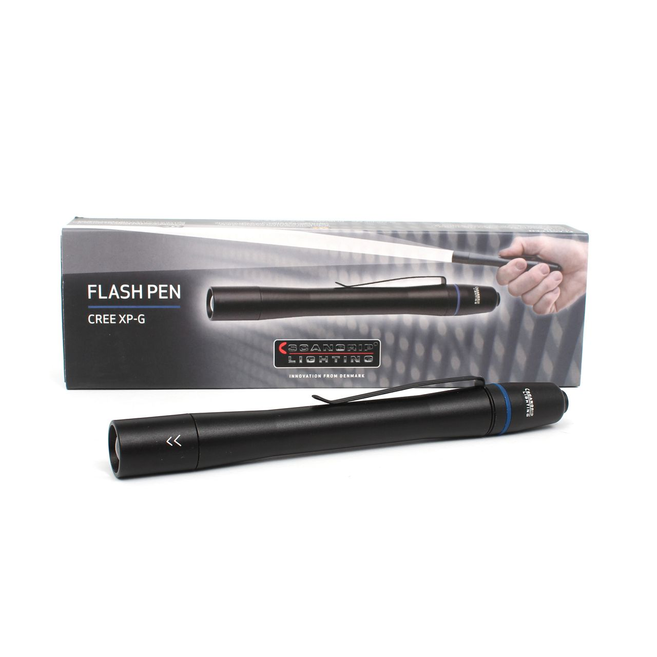 SCANGRIP 03.5110 FLASH PEN 1W LED Taschenlampe Stiftlampe mit Fokusfunktion