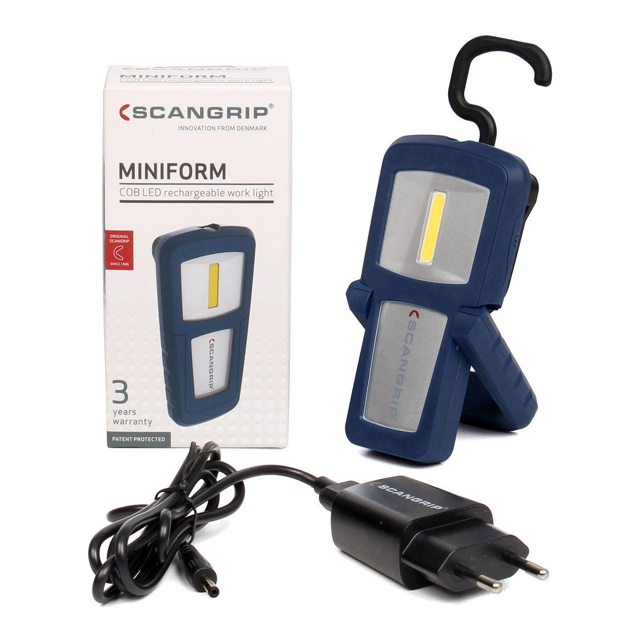 SCANGRIP MINIFORM 03.5404 LED Werkstattlampe Arbeitslampe Handlampe Taschenlampe