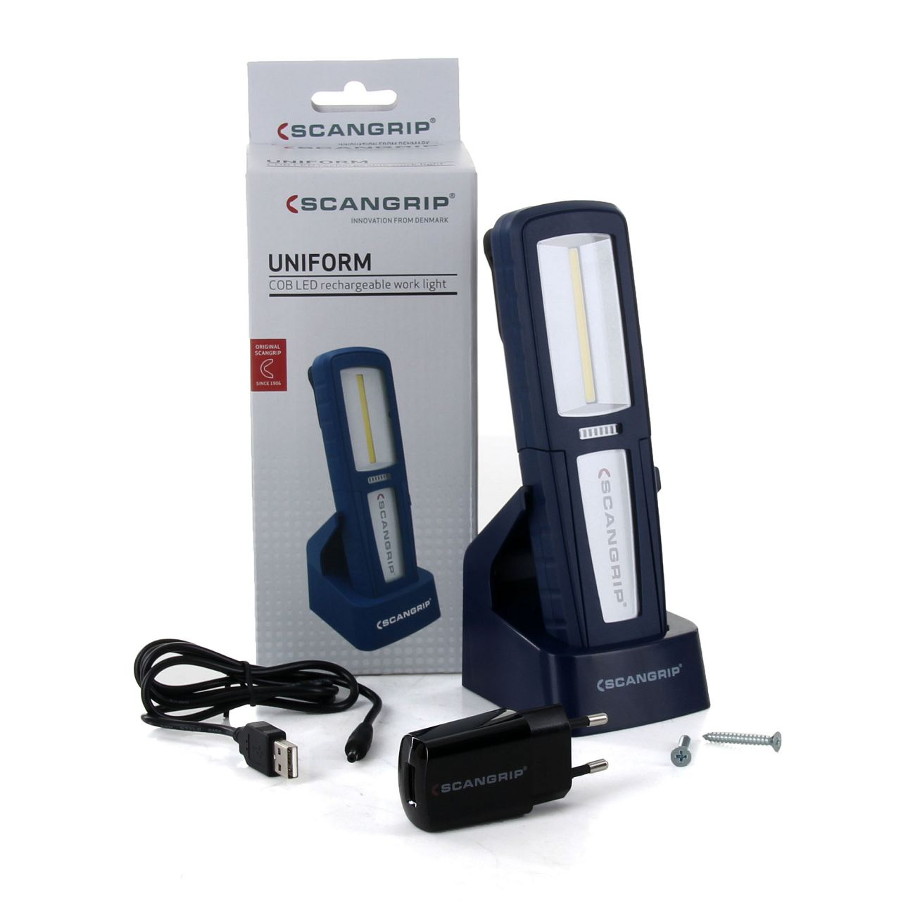 SCANGRIP 03.5407 UNIFORM LED Werkstattlampe Arbeitslampe Handlampe Taschenlampe