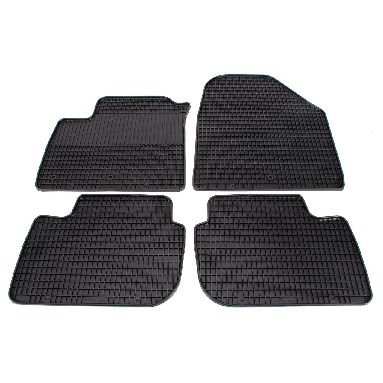 SCHÖNEK Gummimatten Gummifußmatten Fußmatten HYUNDAI Ioniq (AE) Elektro 4-teilig