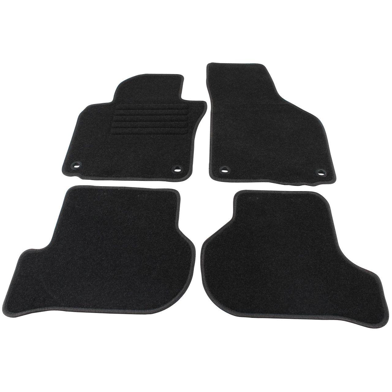 Veloursmatten Textilmatten Fußmatten VW Golf 5 (1K1) bis 12.2006 4-teilig