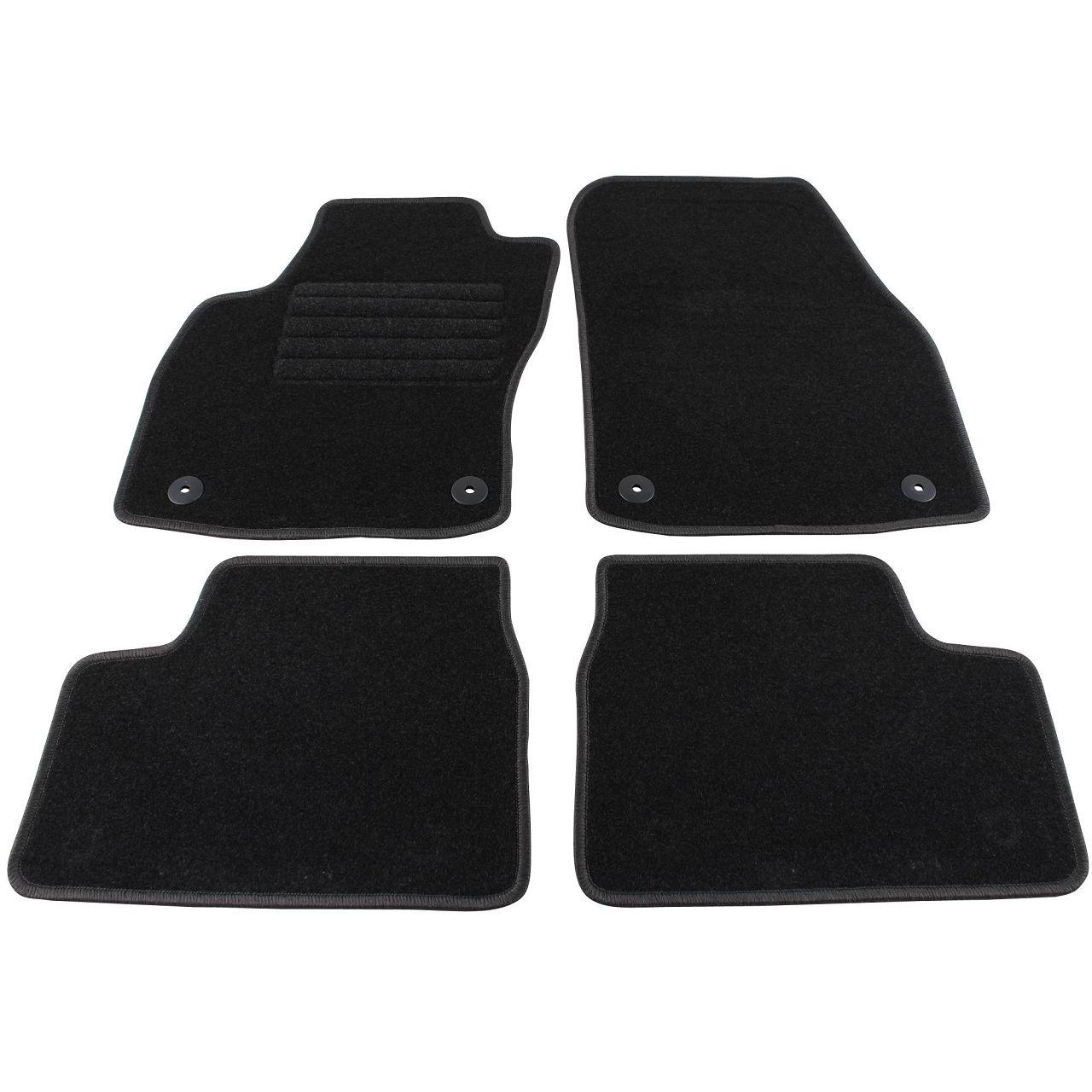 Veloursmatten Textilmatten Fußmatten für OPEL ASTRA H + CARAVAN + GTC + TWINTOP