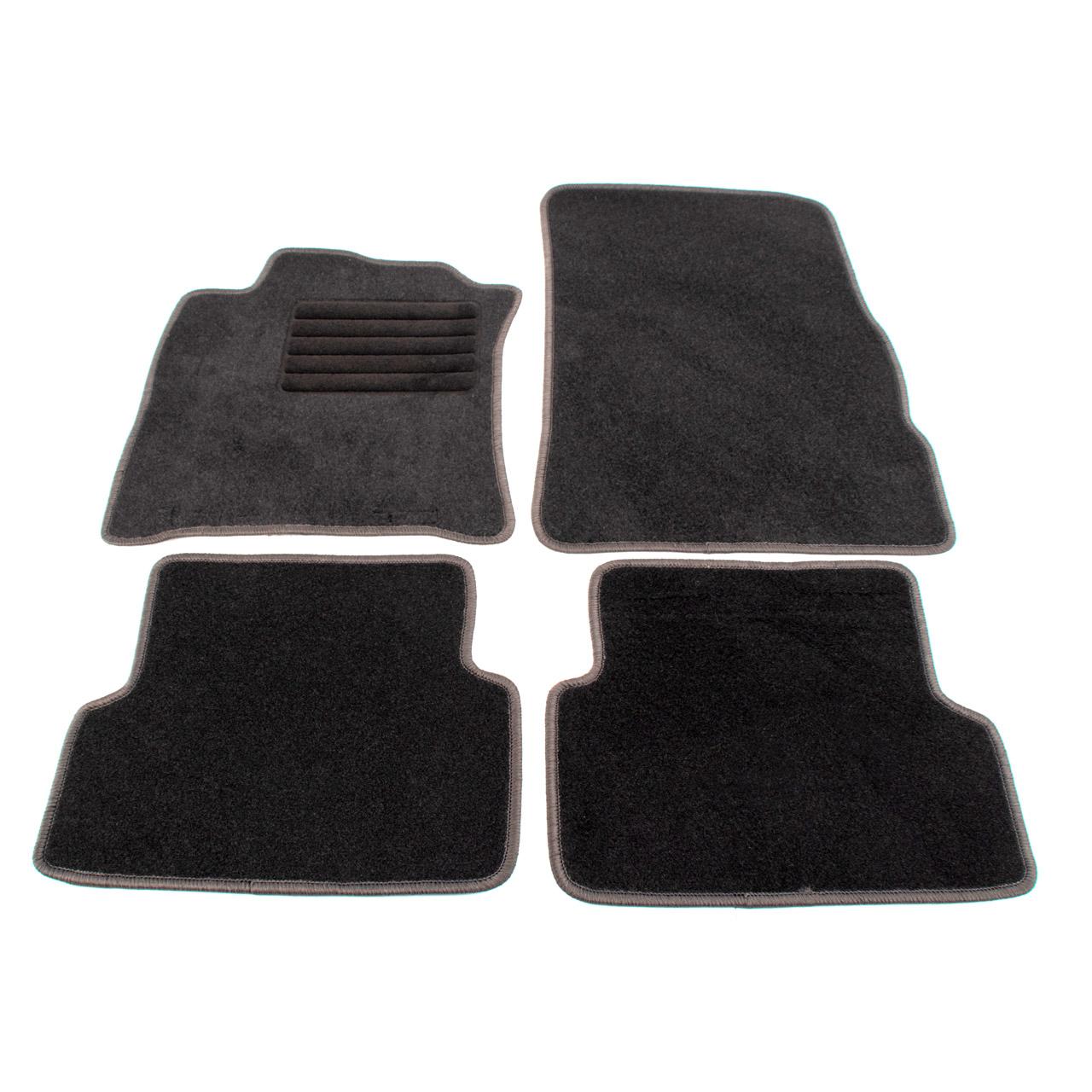 Veloursmatten Textilmatten Fußmatten RENAULT Modus / Grand Modus 4-teilig