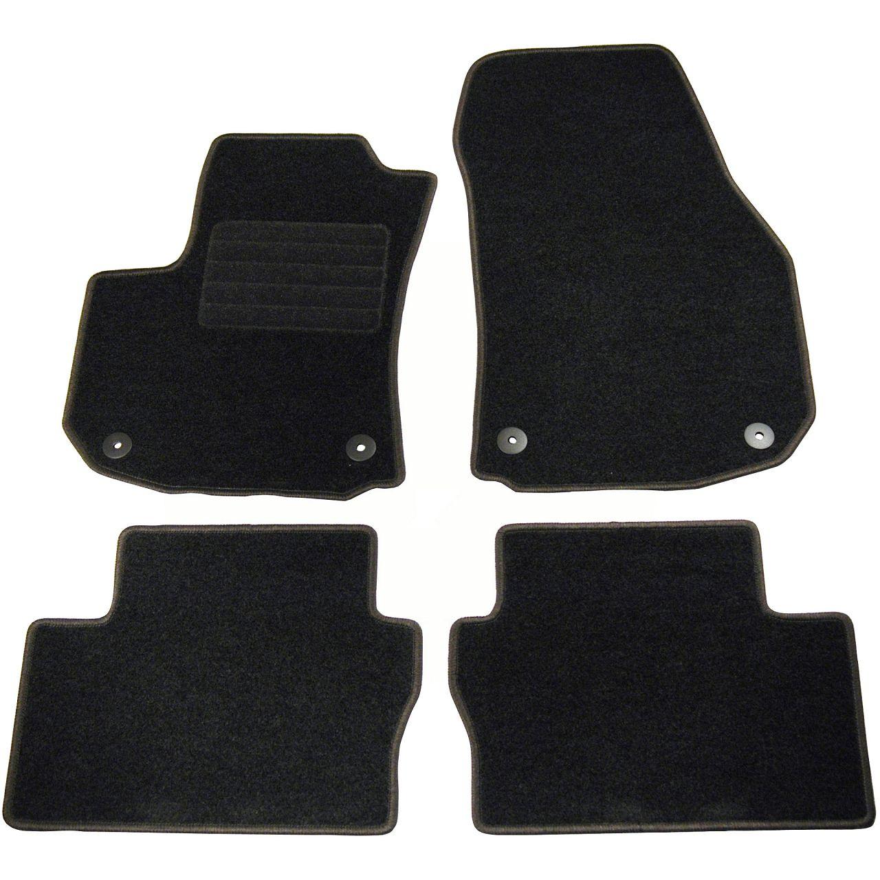 Veloursmatten Textilmatten Fußmatten Automatten für Opel Zafira B 5-Sitzer 4-tlg