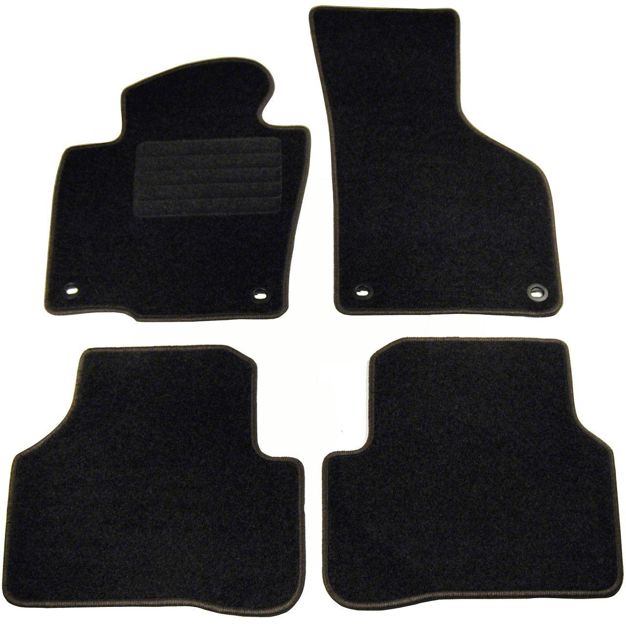 SCHÖNEK Veloursmatten Textilmatten Fußmatten VW Pasast (3C B6) bis 12.2006 4-teilig