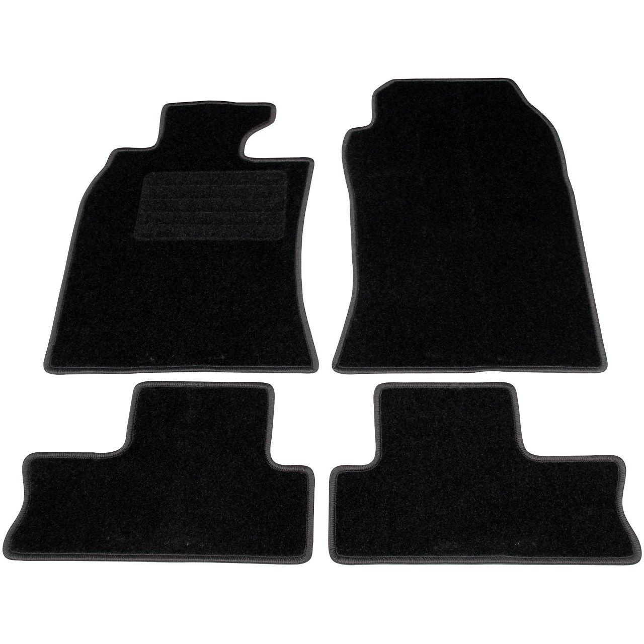 Veloursmatten Textilmatten Fußmatten MINI Cooper One R50 R53 ab 09.2003 4-tlg