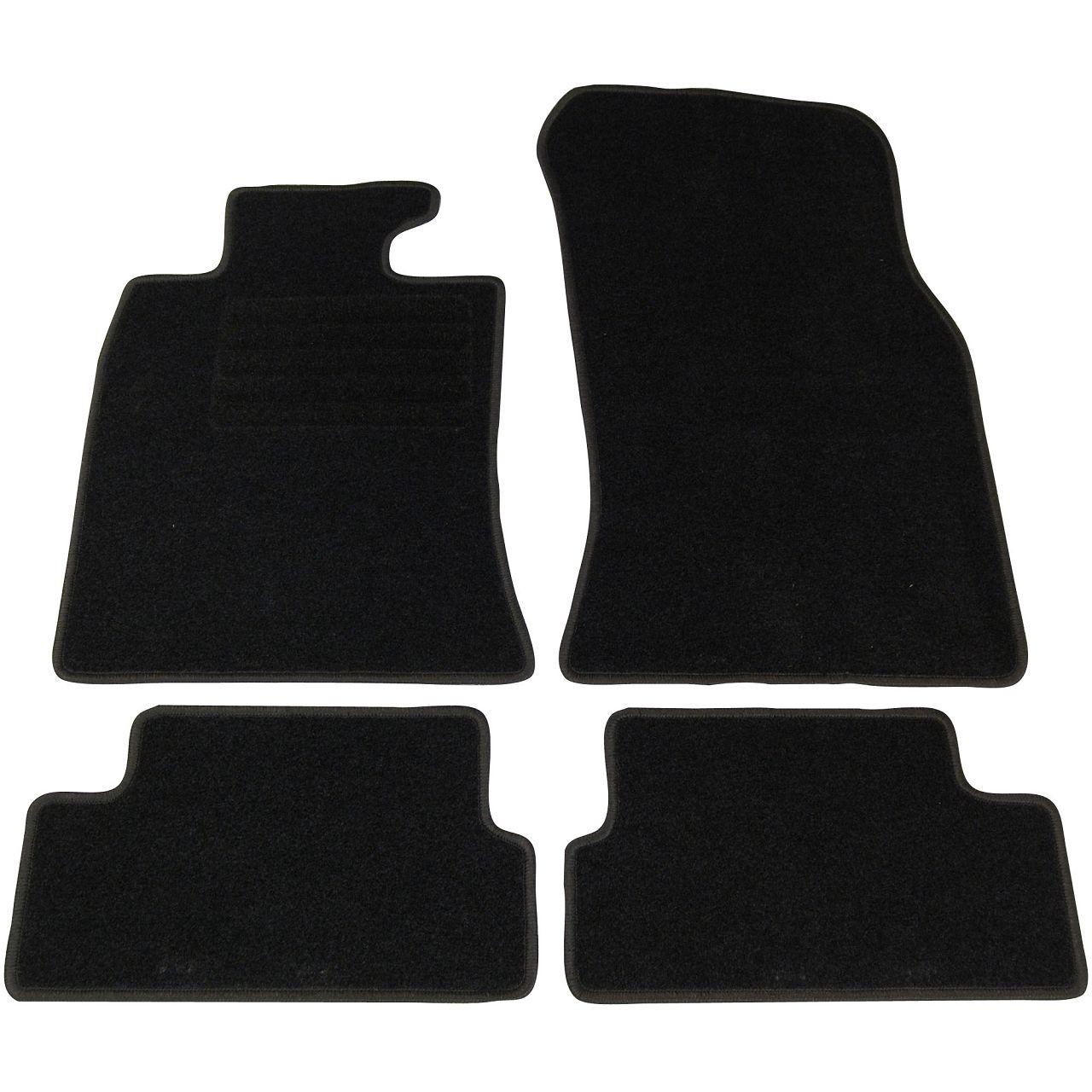 Veloursmatten Textilmatten Fußmatten Automatten MINI Cooper / One R56 4-tlg