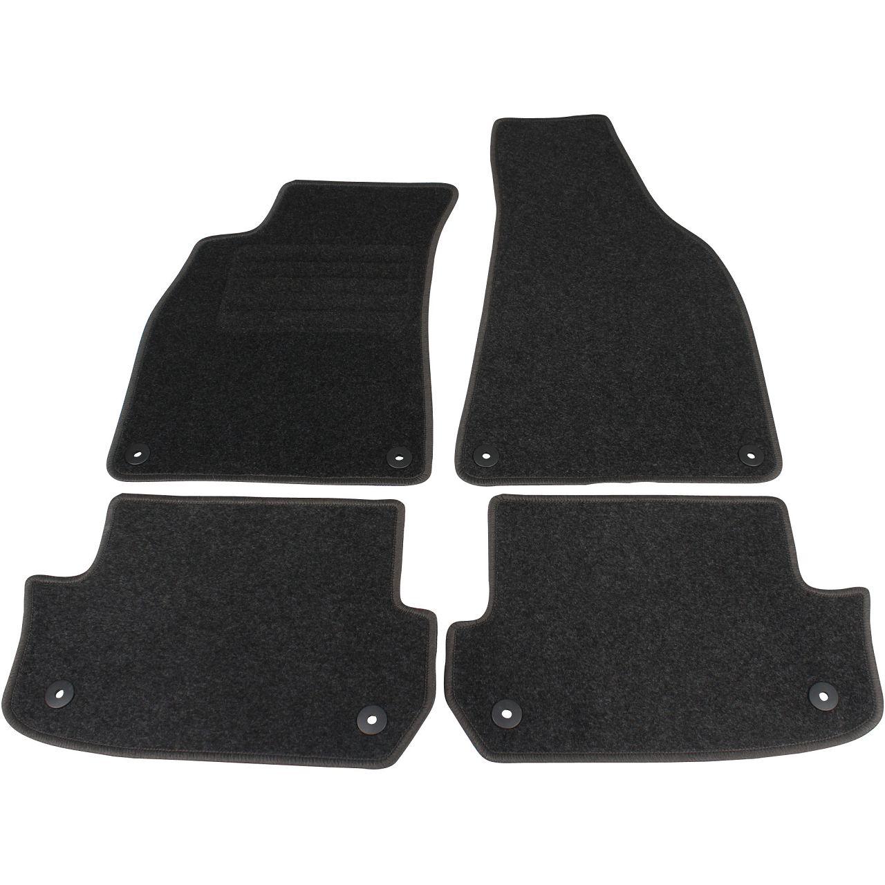 Veloursmatten Textilmatten Fußmatten AUDI A4 S4 RS4 8H B6 B7 Cabrio 4-teilig