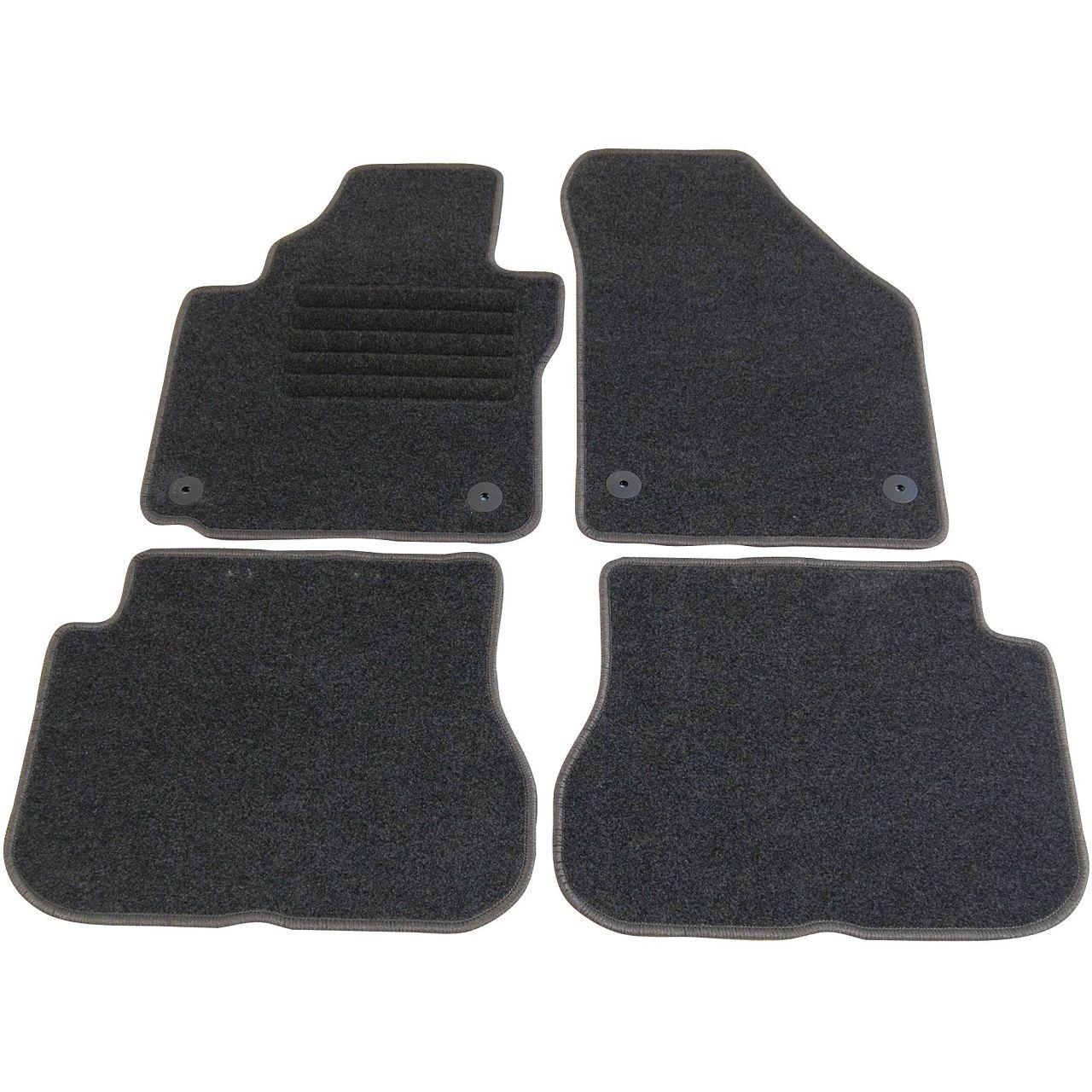 Veloursmatten Textilmatten Fußmatten Automatten Satz für VW CADDY 3 ab Bj. 2007