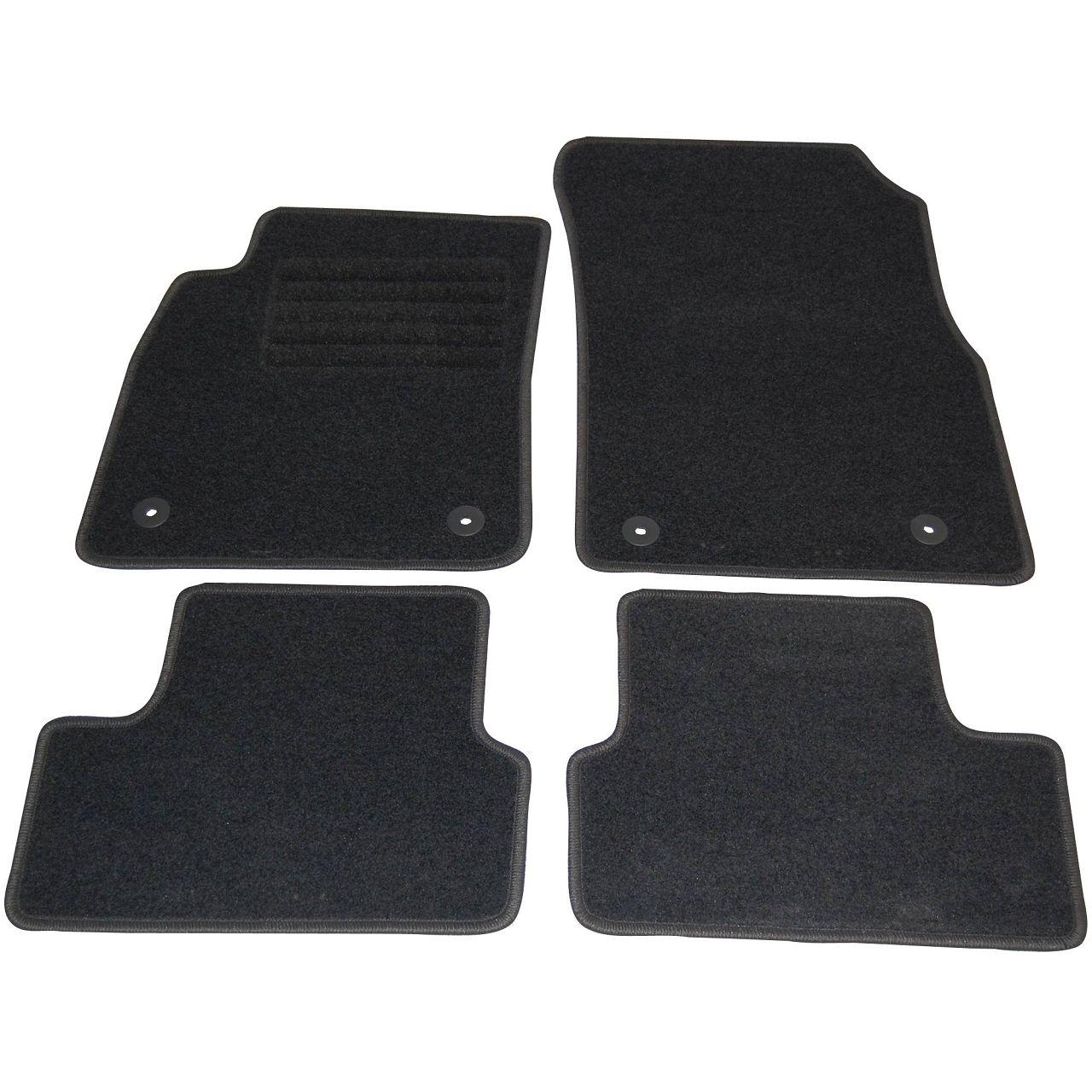 Veloursmatten Textilmatten Fußmatten Automatten Satz 4-tlg für CHEVROLET CRUZE