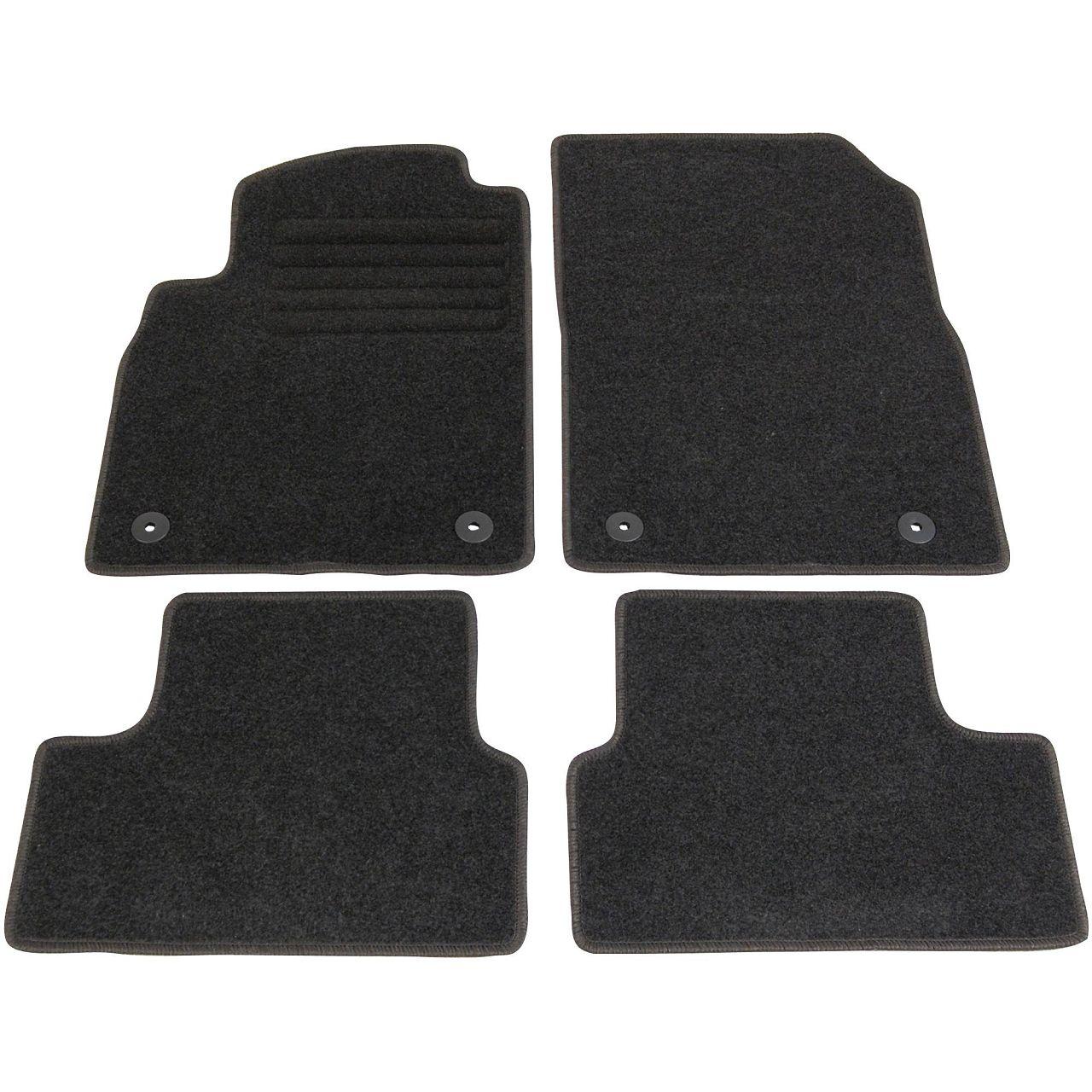 SCHÖNEK Veloursmatten Textilmatten Fußmatten OPEL Astra J 4-teilig