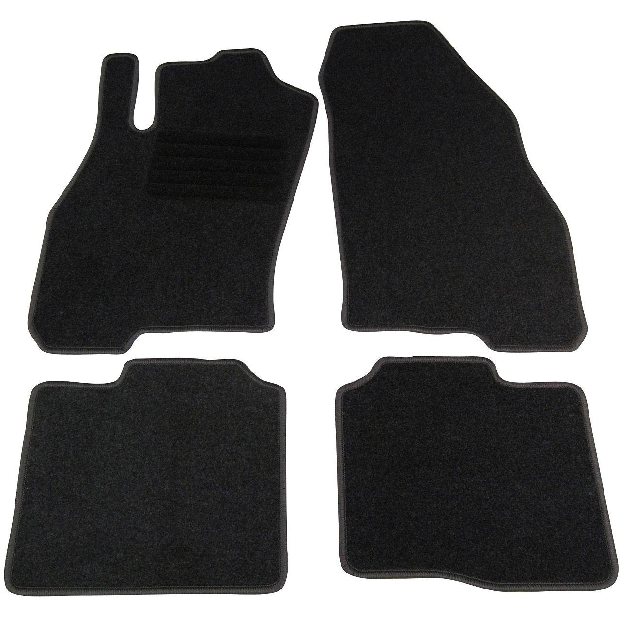 Veloursmatten Textilmatten Fußmatten FIAT Punto Evo 199 3-Türer ab 10.2009 4-tlg