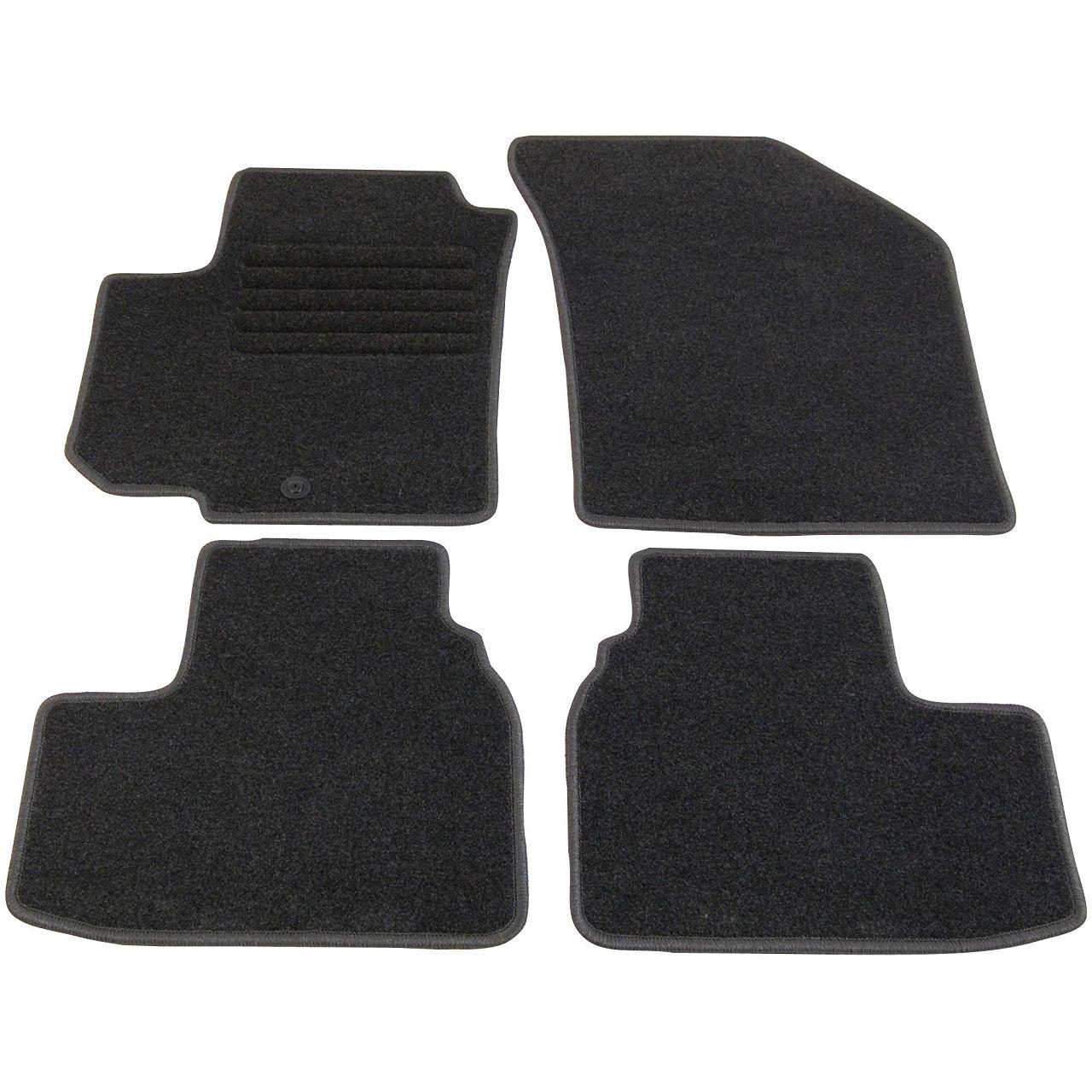 Veloursmatten Textilmatten Fußmatten Automatten Satz für SUZUKI SWIFT IV 4-tlg