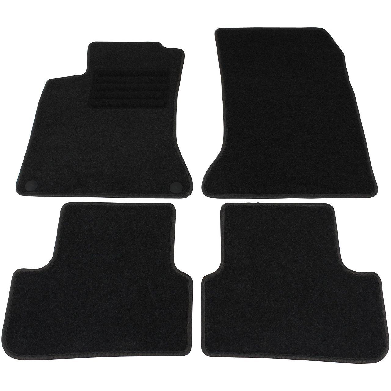 Veloursmatten Textilmatten Fußmatten Automatten für Mercedes B-Klasse W246 4-tlg