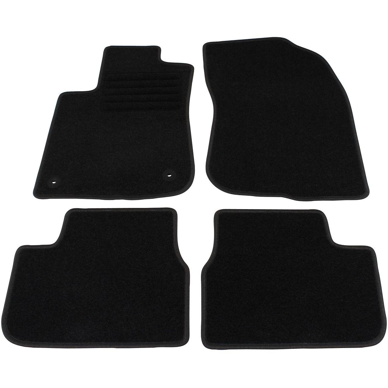 Veloursmatten Textilmatten Fußmatten Automatten für Peugeot 208 ab 03.2012 4-tlg