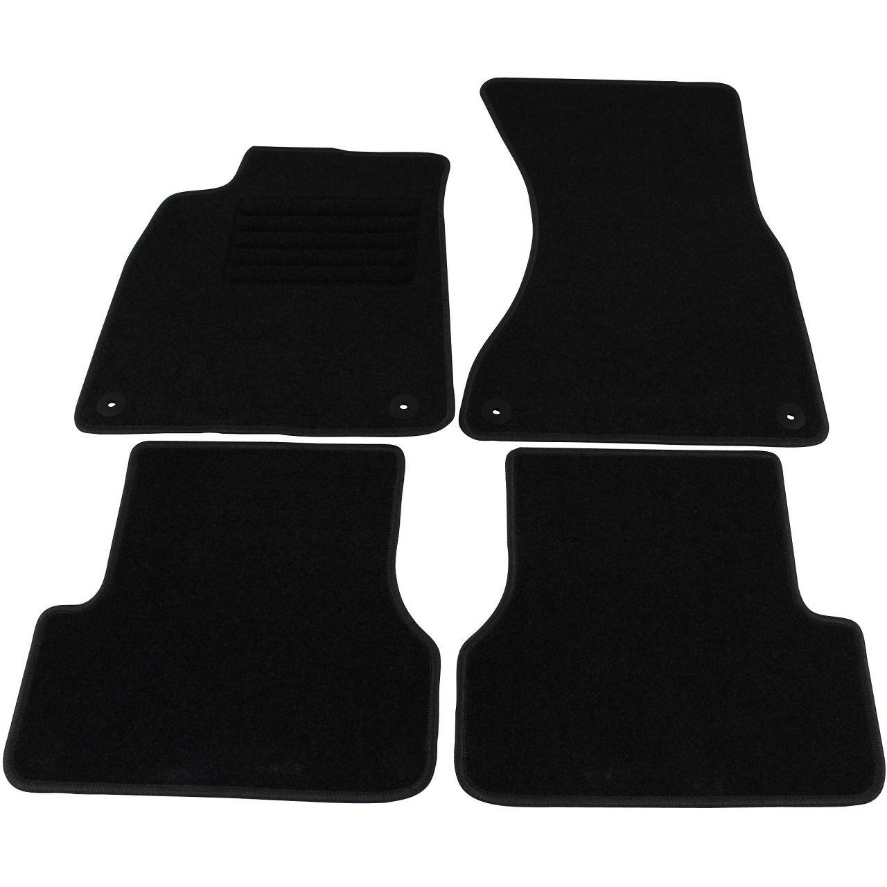 Veloursmatten Textilmatten Fußmatten AUDI A6 S6 RS6 (4G C7) Avant 4-teilig