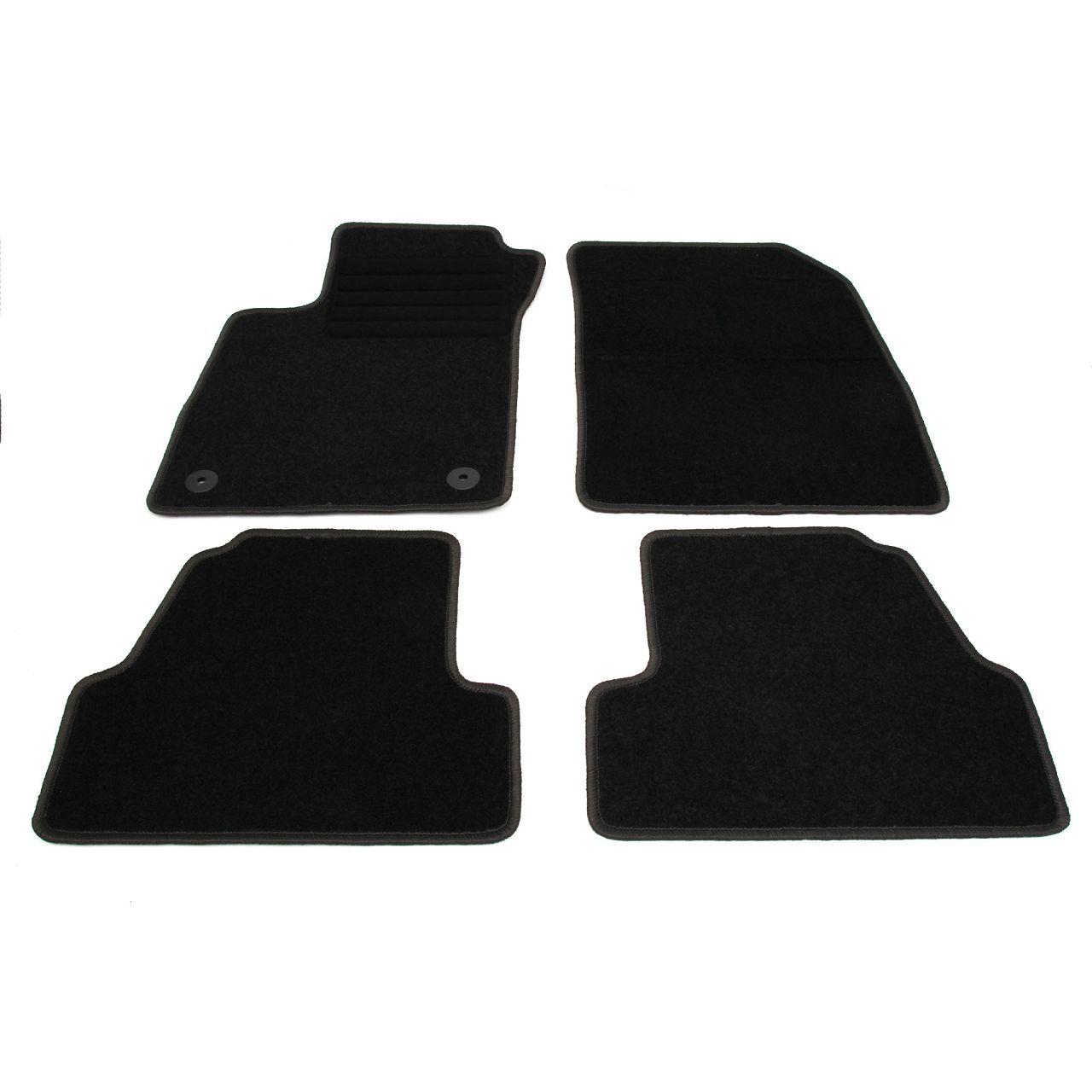 Veloursmatten Textilmatten Fußmatten Satz für OPEL MOKKA / MOKKA X 4-tlg