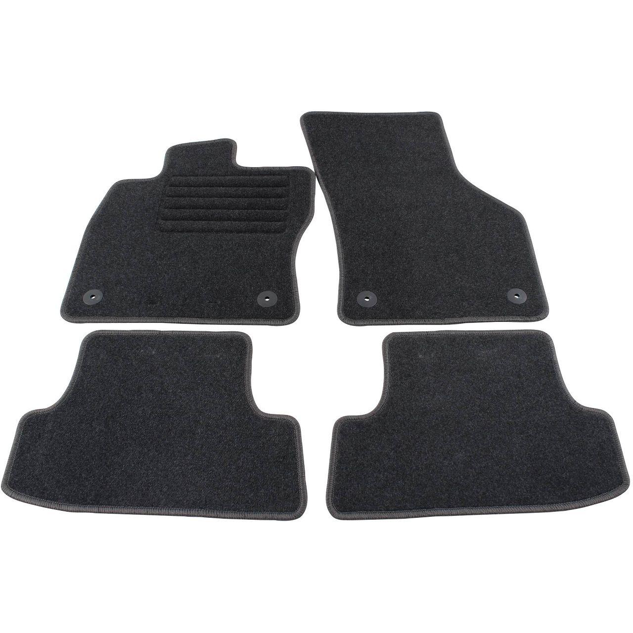 Veloursmatten Textilmatten Fußmatten AUDI A3 S3 8V 3-Türer + Cabrio bis 05.2016 4-teilig