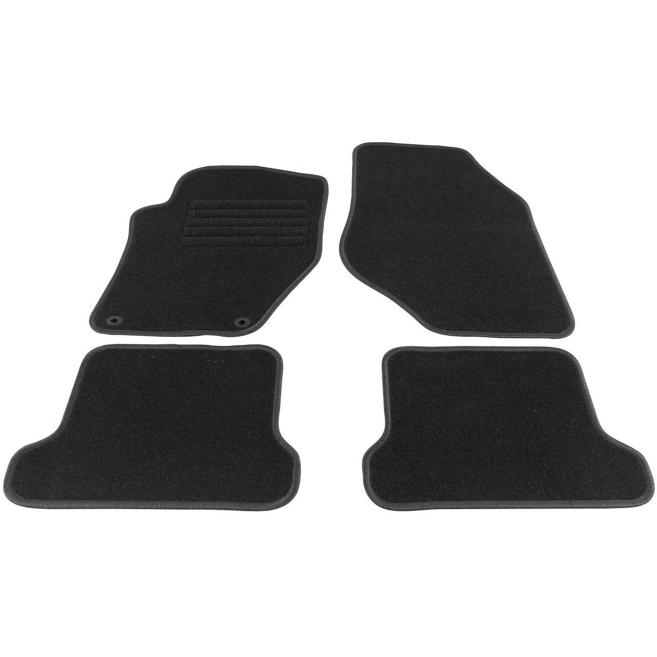 Veloursmatten Textilmatten Fußmatten für Peugeot 308 CC Cabriolet 4-tlg