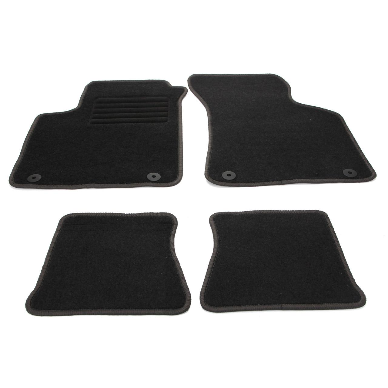 Veloursmatten Textilmatten Fußmatten AUDI TT TTS TTRS 8N Coupe Cabrio 2-tlg