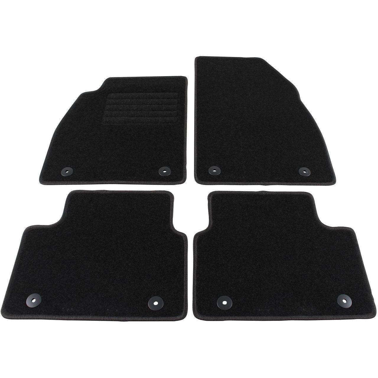 Veloursmatten Textilmatten Fußmatten für Opel Insignia ab 09.2013 4-tlg