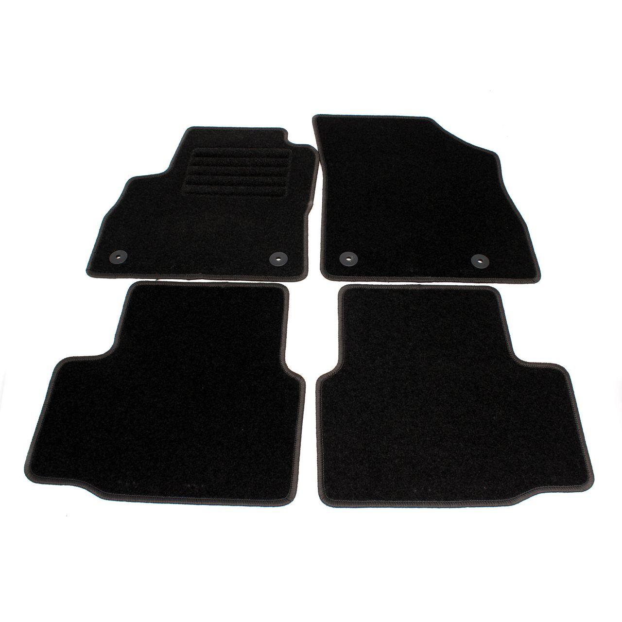 Veloursmatten Textilmatten Fußmatten Satz für Opel Astra K ab 07.2015 4-teilig