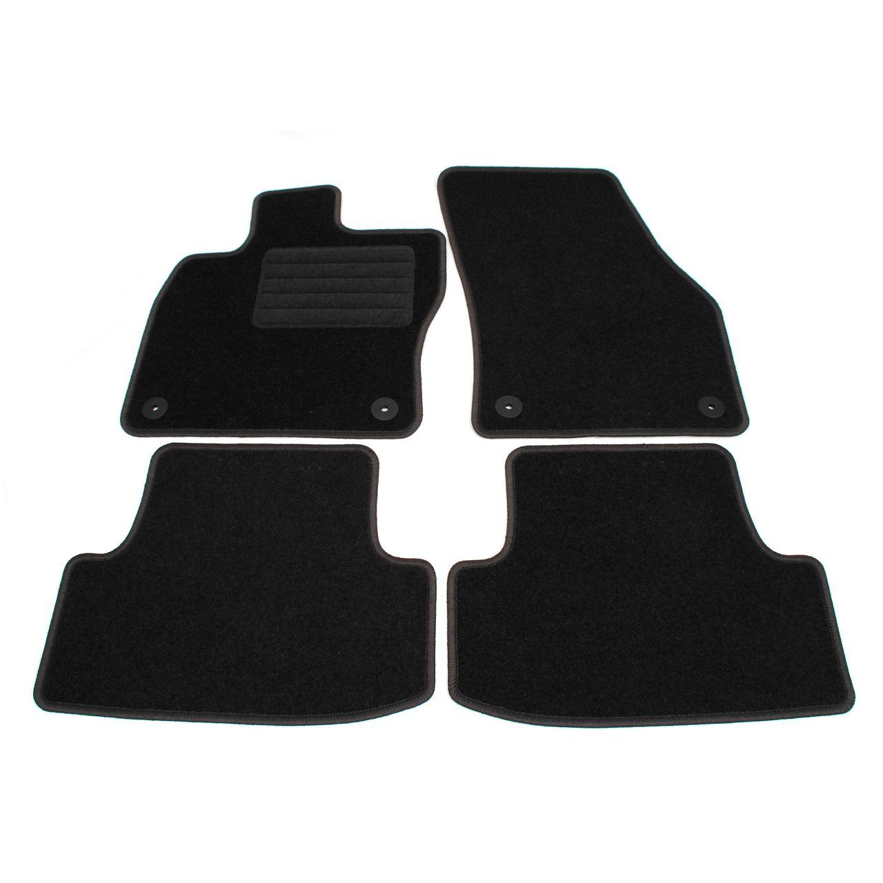 SCHÖNEK Veloursmatten Textilmatten Fußmatten CUPRA / SEAT Ateca (KH7) 4-teilig