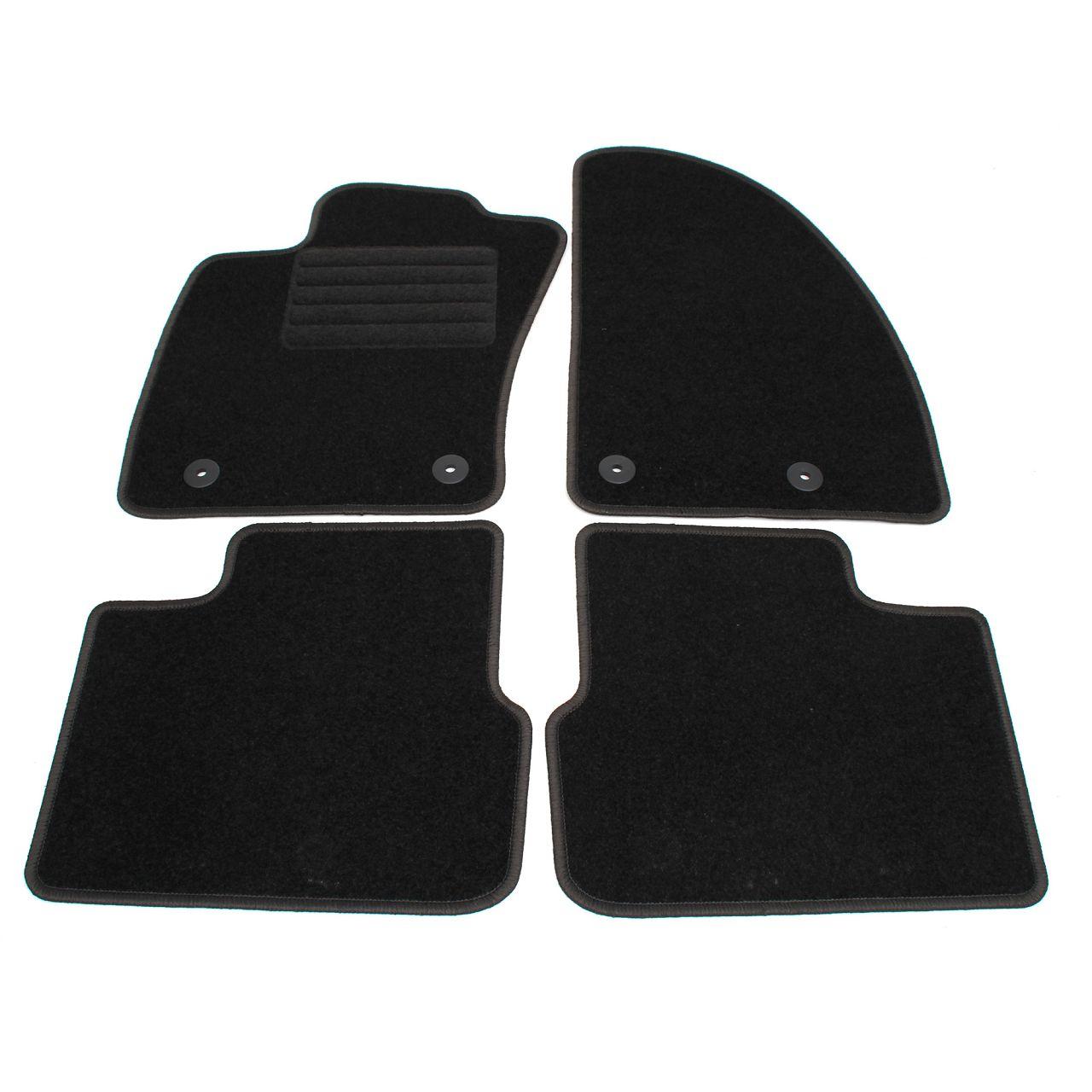 Veloursmatten Textilmatten Fußmatten für FIAT TIPO (356) Schrägheck 4-tlg