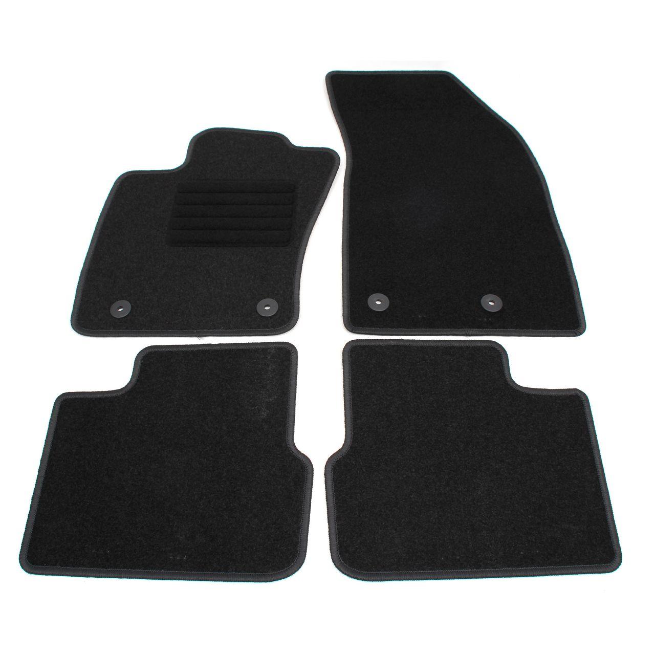 Veloursmatten Textilmatten Fußmatten für FIAT TIPO Kombi (356_) 4-teilig