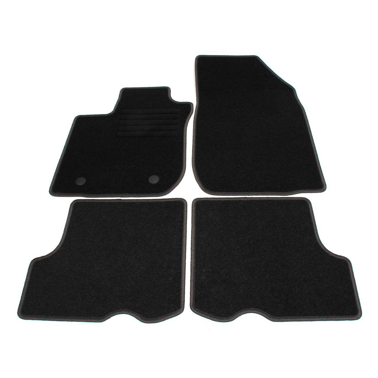 Veloursmatten Textilmatten Fußmatten Automatten für DACIA SANDERO II ab 01.2017