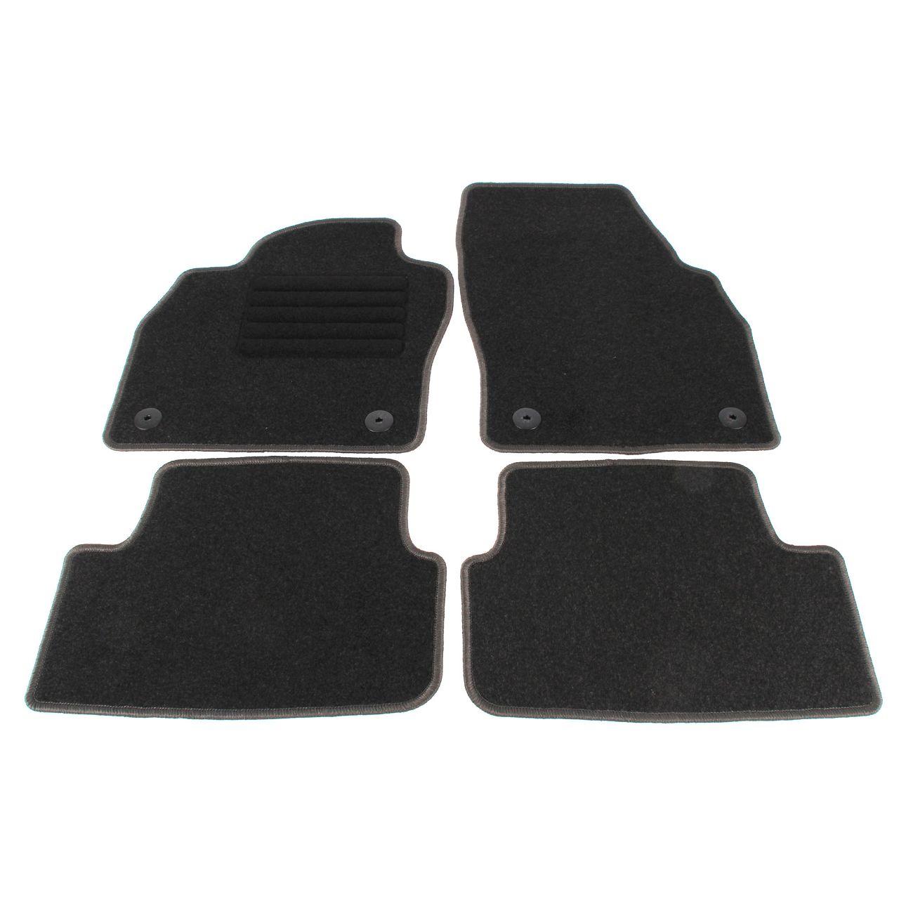Veloursmatten Textilmatten Fußmatten für VW POLO (AW) ab 09.2017 4-TEILIG
