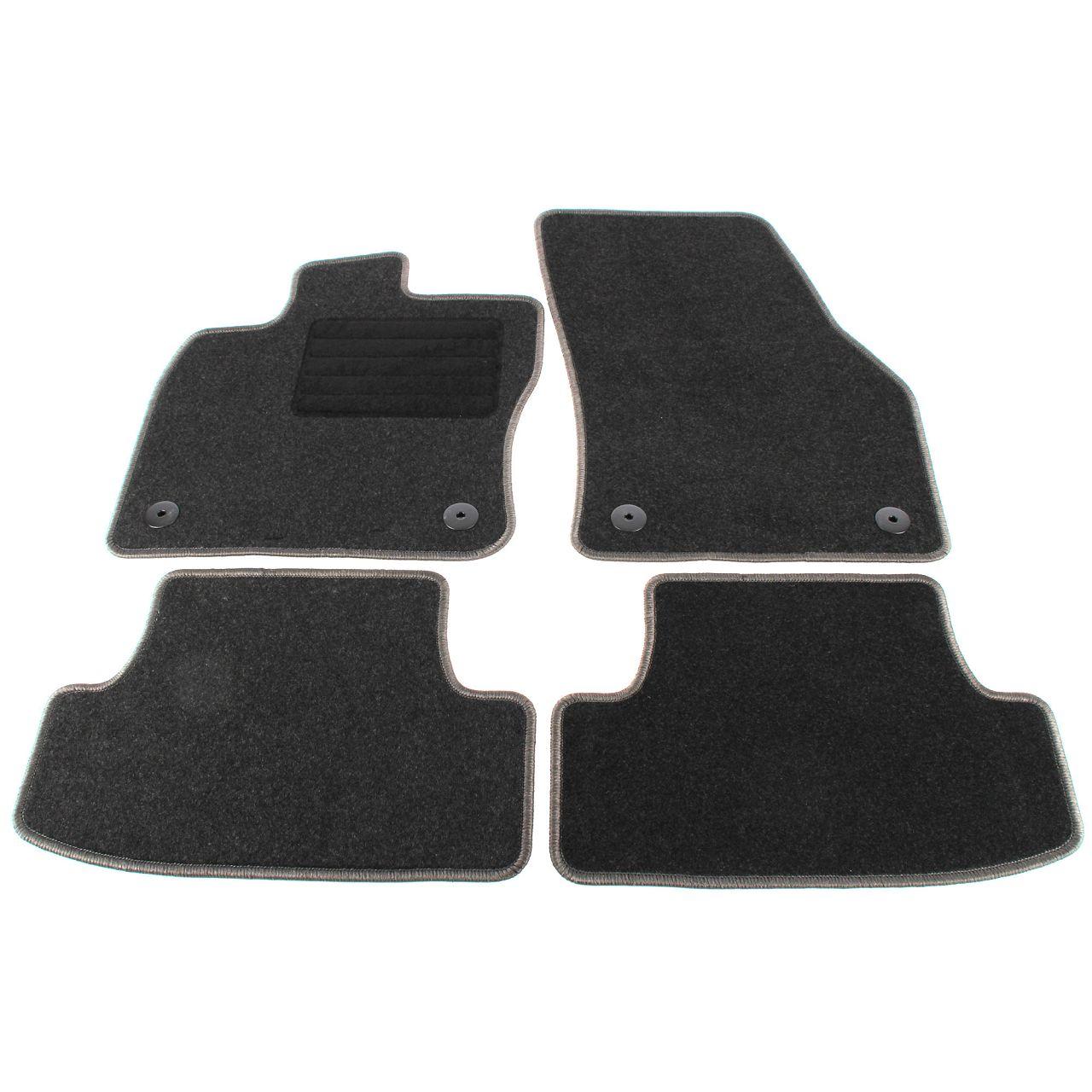 Veloursmatten Textilmatten Fußmatten Automatten für VW T-ROC ab 11.2017 4-TEILIG