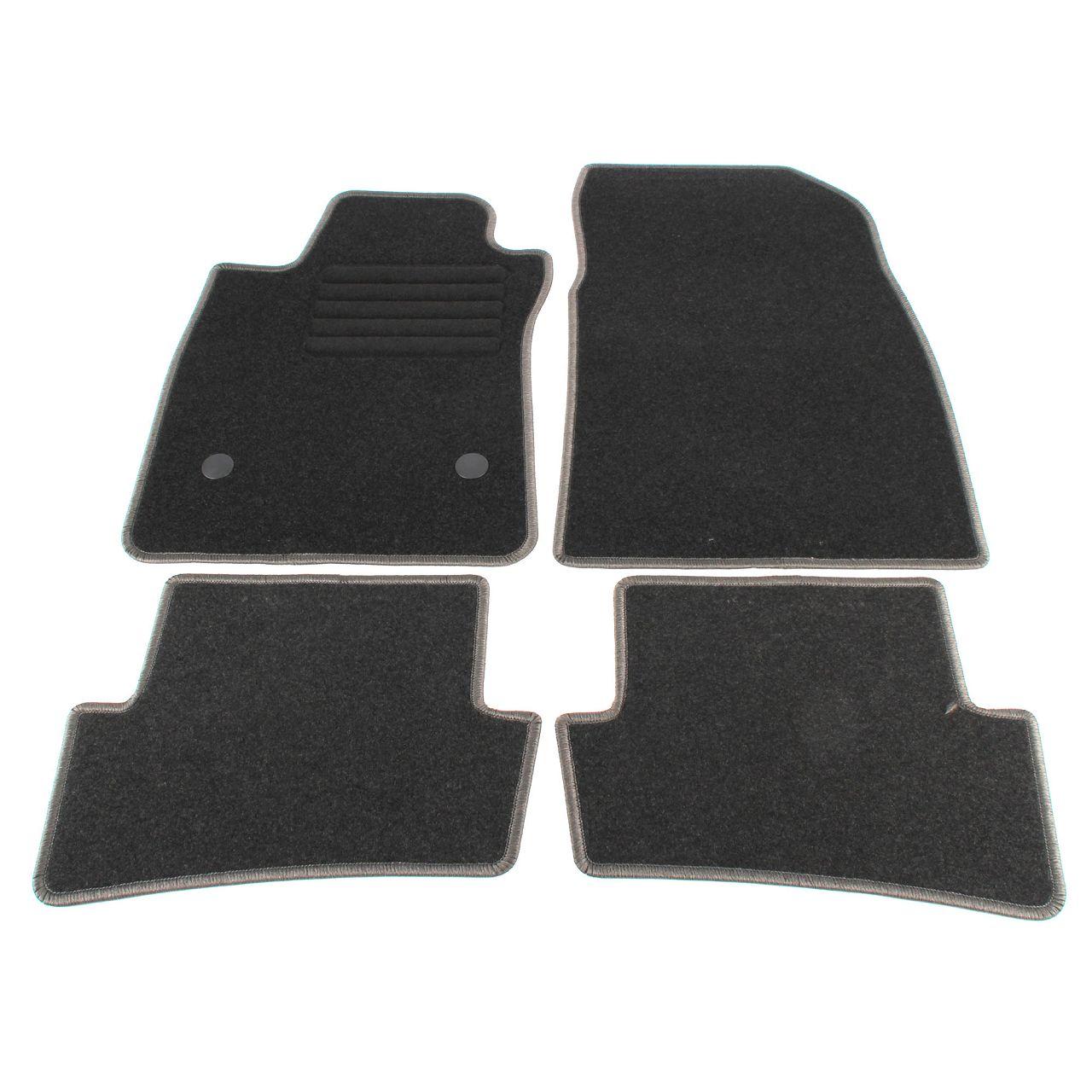 Veloursmatten Textilmatten Fußmatten für RENAULT CAPTUR ab 06.2017 4-TLG
