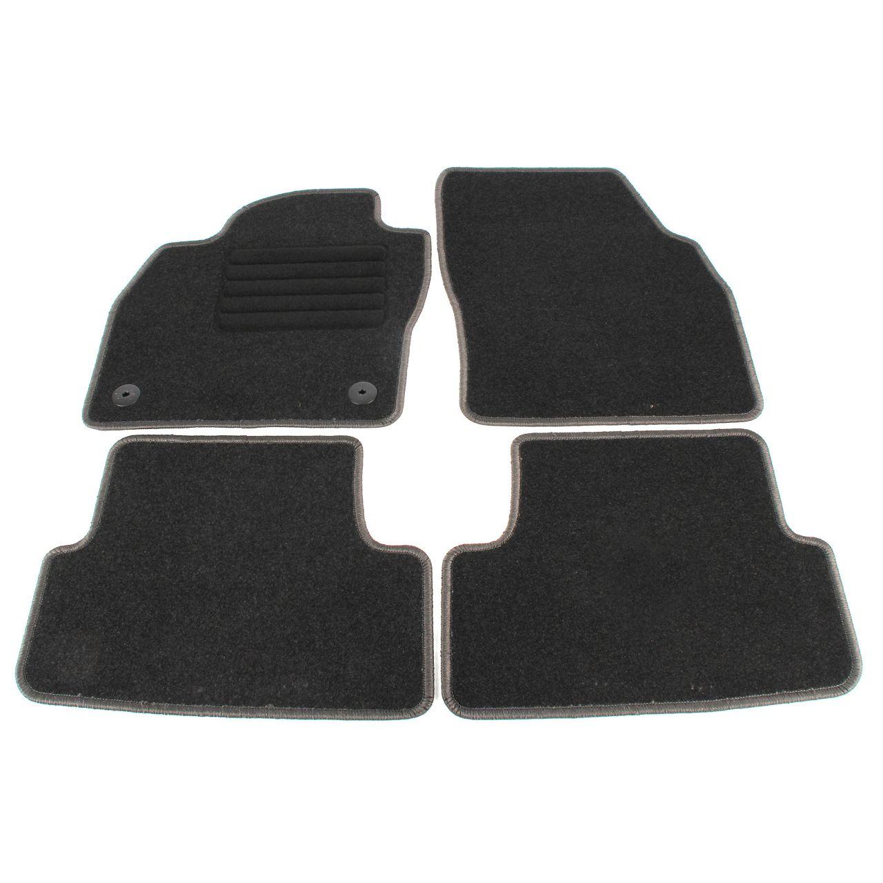 Veloursmatten Textilmatten Fußmatten für SEAT ARONA ab 07.2017 4-teilig