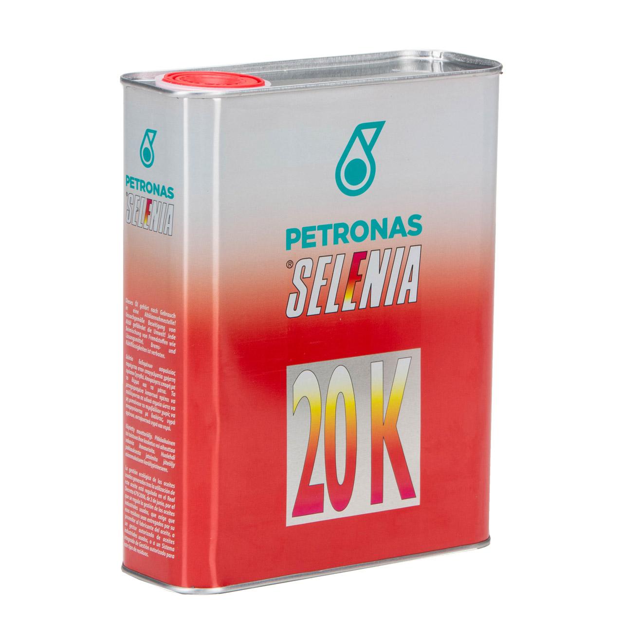 PETRONAS SELENIA Motoröl Öl 20 K 10W-40 10W40 Fat 9.5535-G2/2015 - 2L 2 Liter